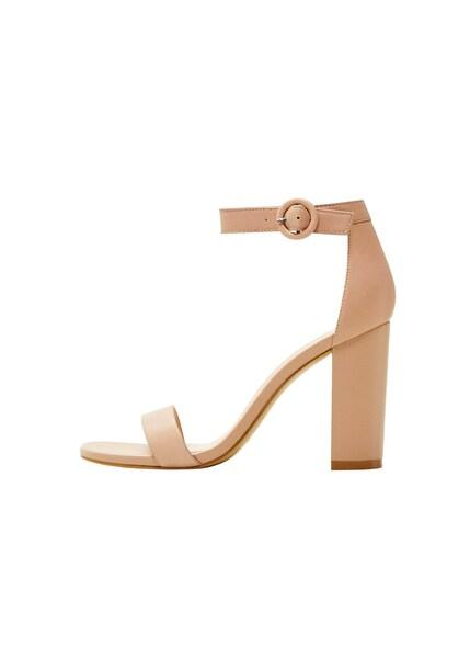 Sandalen für Frauen - MANGO Sandaletten 'Tutti' nude  - Onlineshop ABOUT YOU