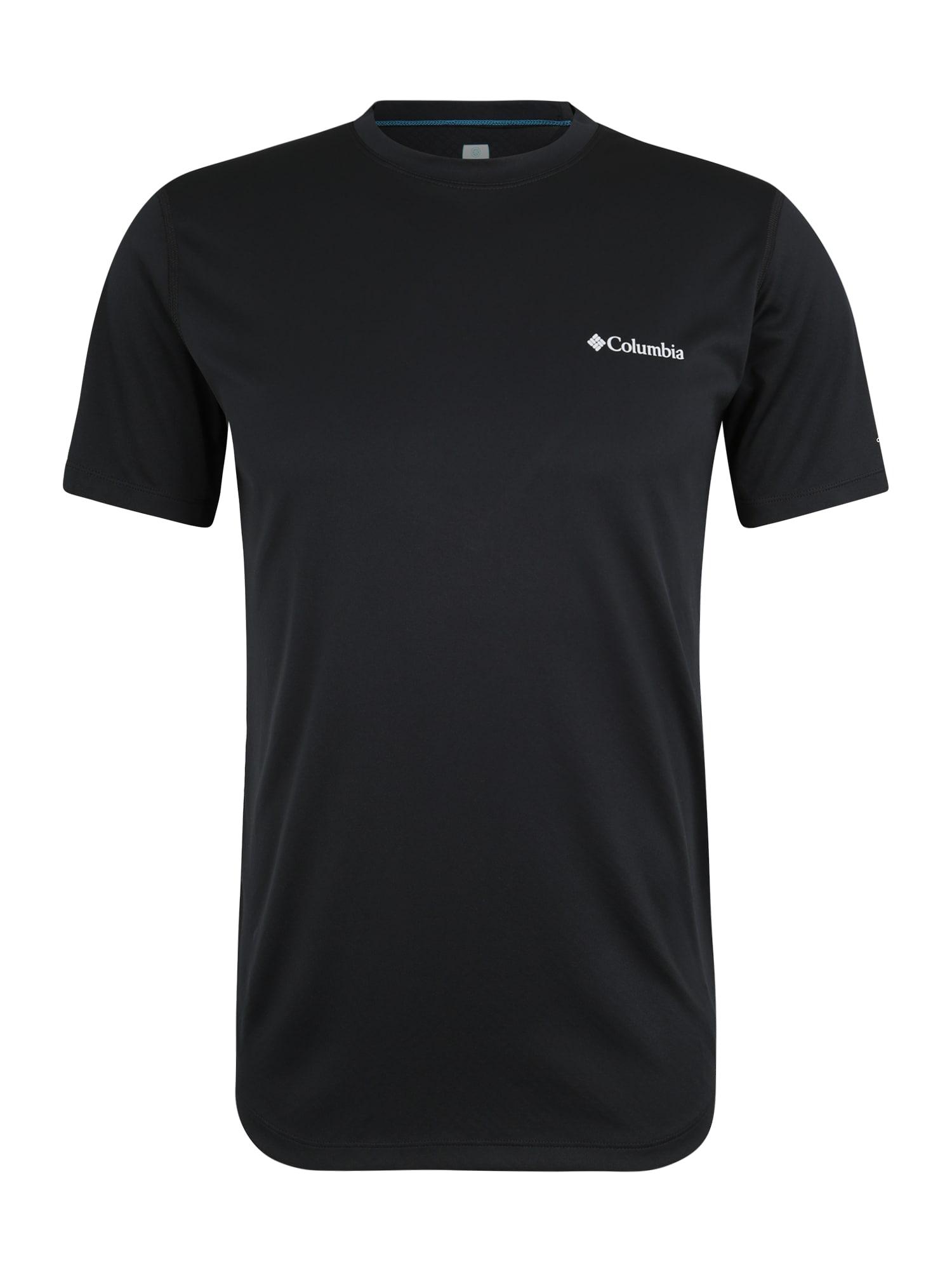 Funkční tričko Zero Rules černá COLUMBIA