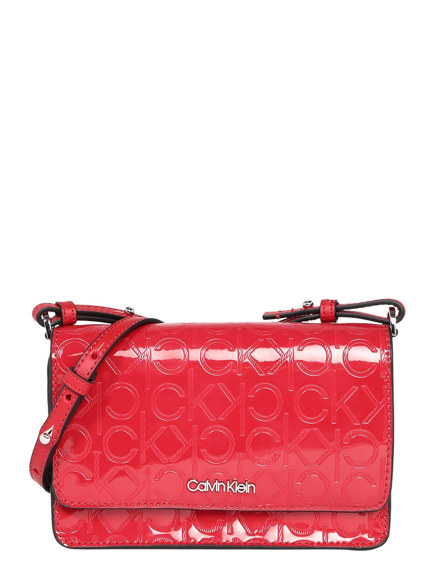 Calvin Klein Taška cez rameno 'CK MUST EM PH CROSSBODY'  červené