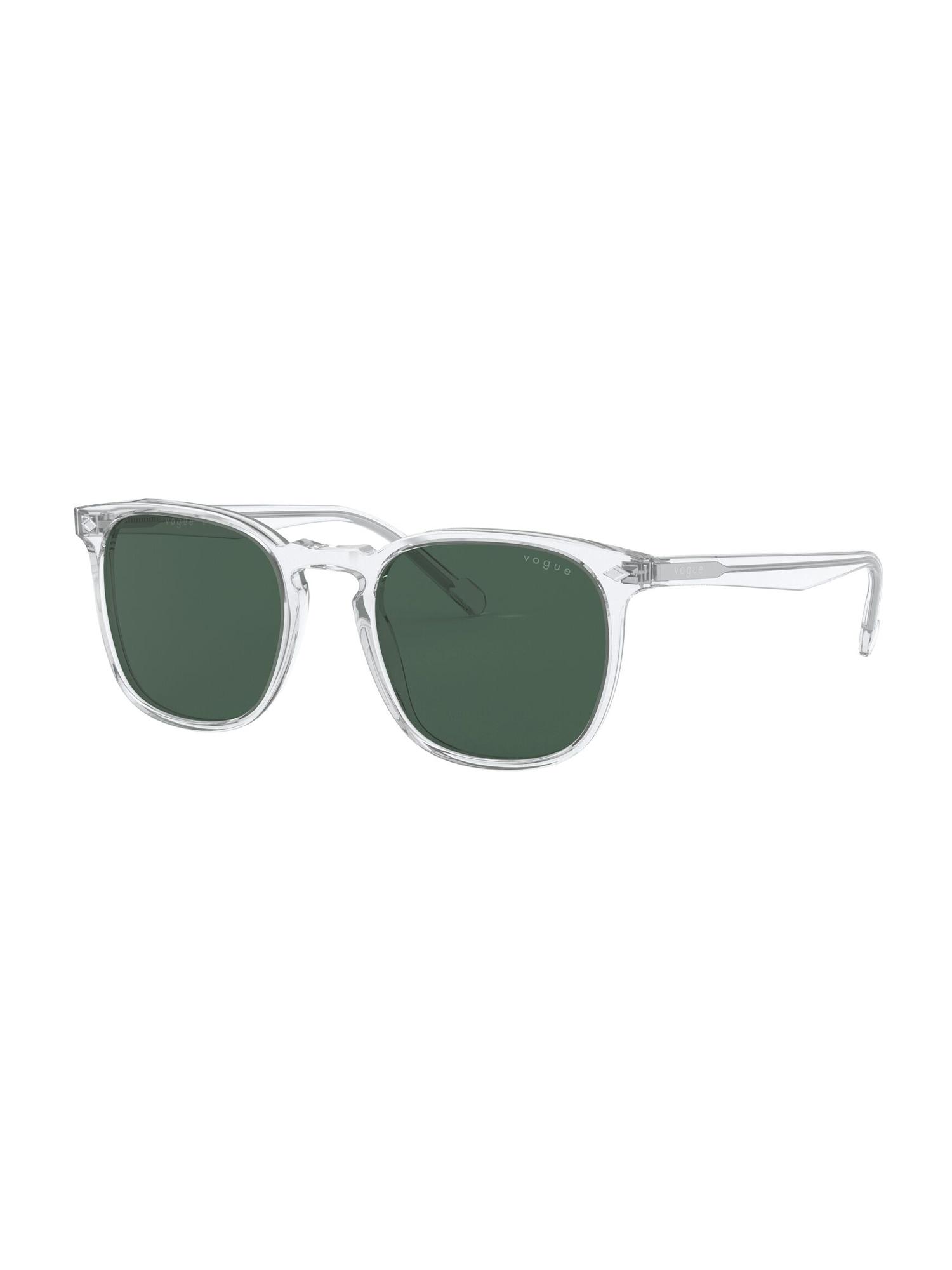 VOGUE Eyewear Akiniai nuo saulės 'VO5328S W74571' juoda / skaidri spalva