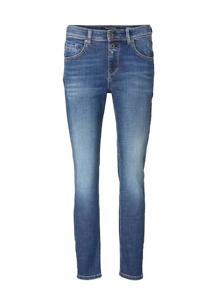Hosen für Frauen - Marc O'Polo Jeans 'Theda loose' blue denim  - Onlineshop ABOUT YOU