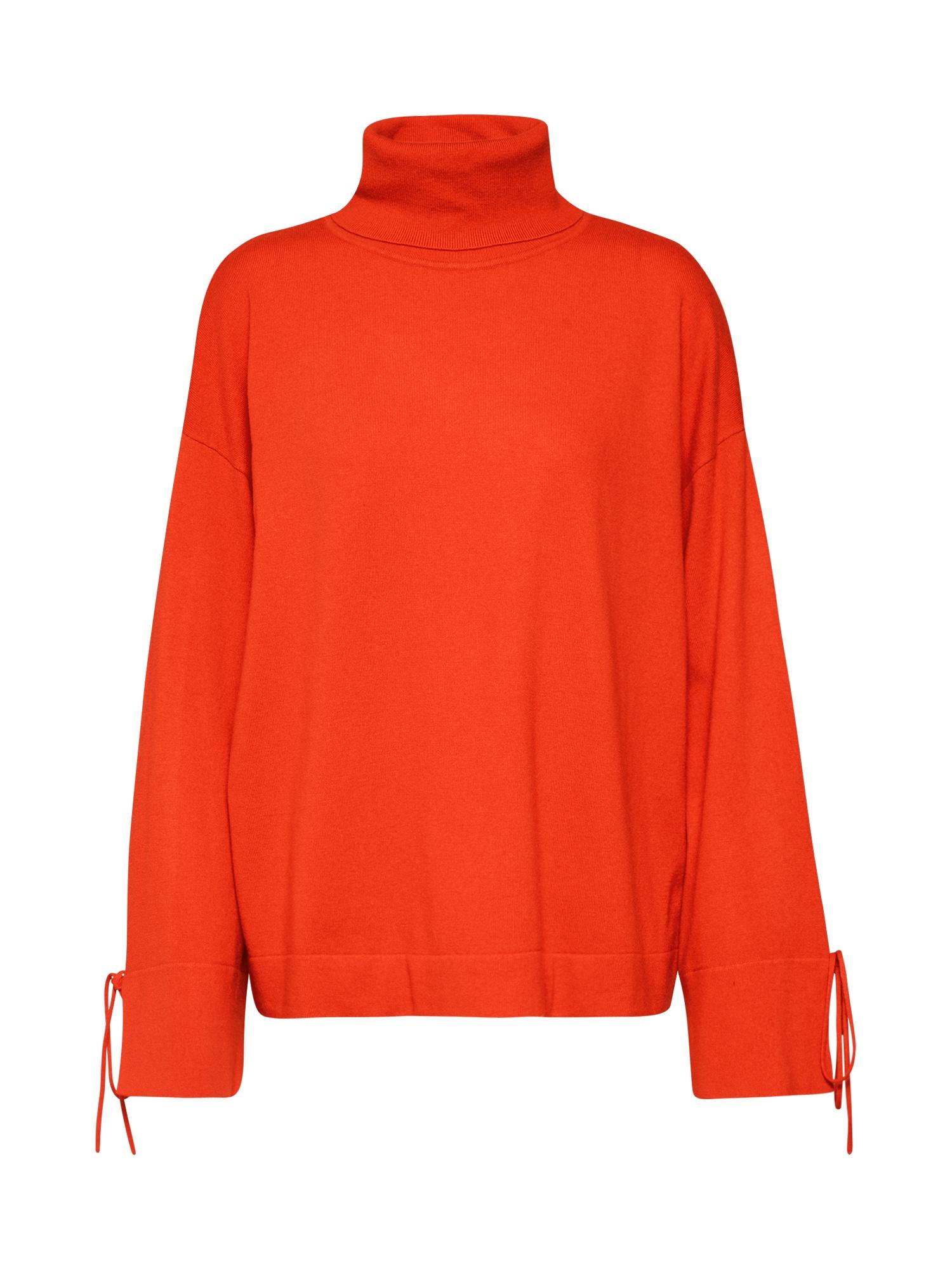 BOSS Megztinis 'Iwanna' oranžinė-raudona