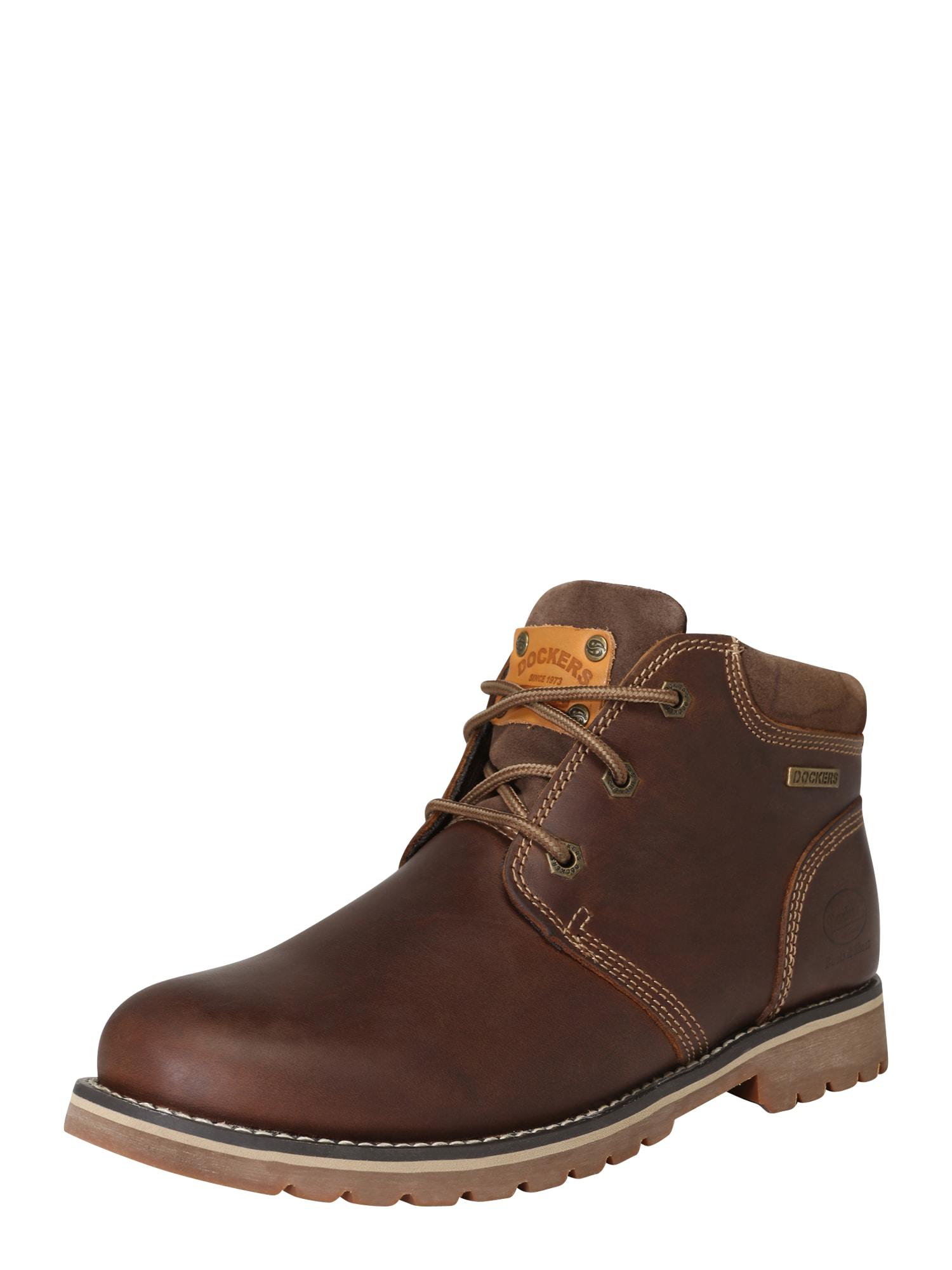 Dockers by Gerli Auliniai batai su raišteliais ruda