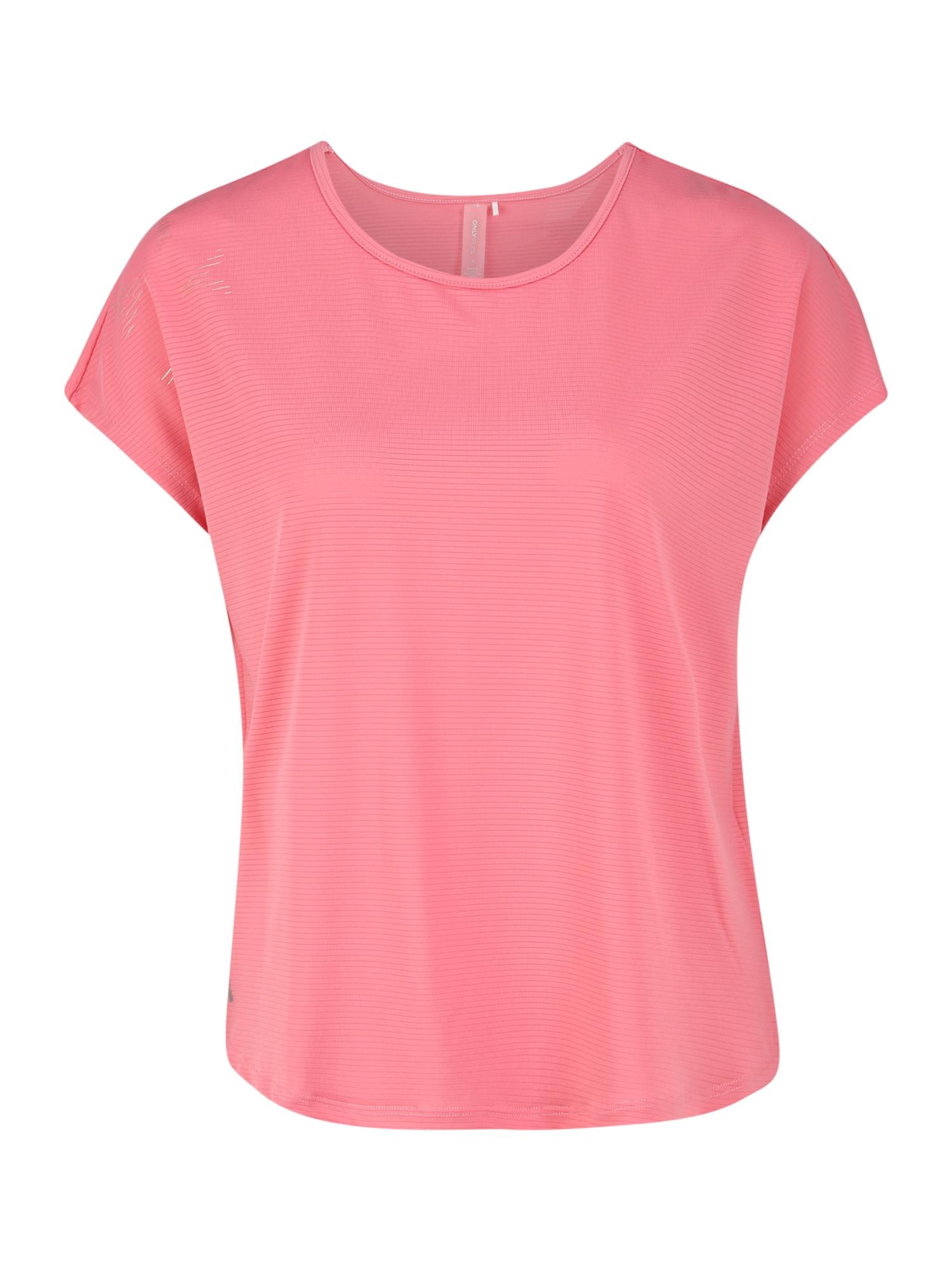 ONLY PLAY Sportiniai marškinėliai 'MILEY LOOSE SS TRAINING TEE' rožinė
