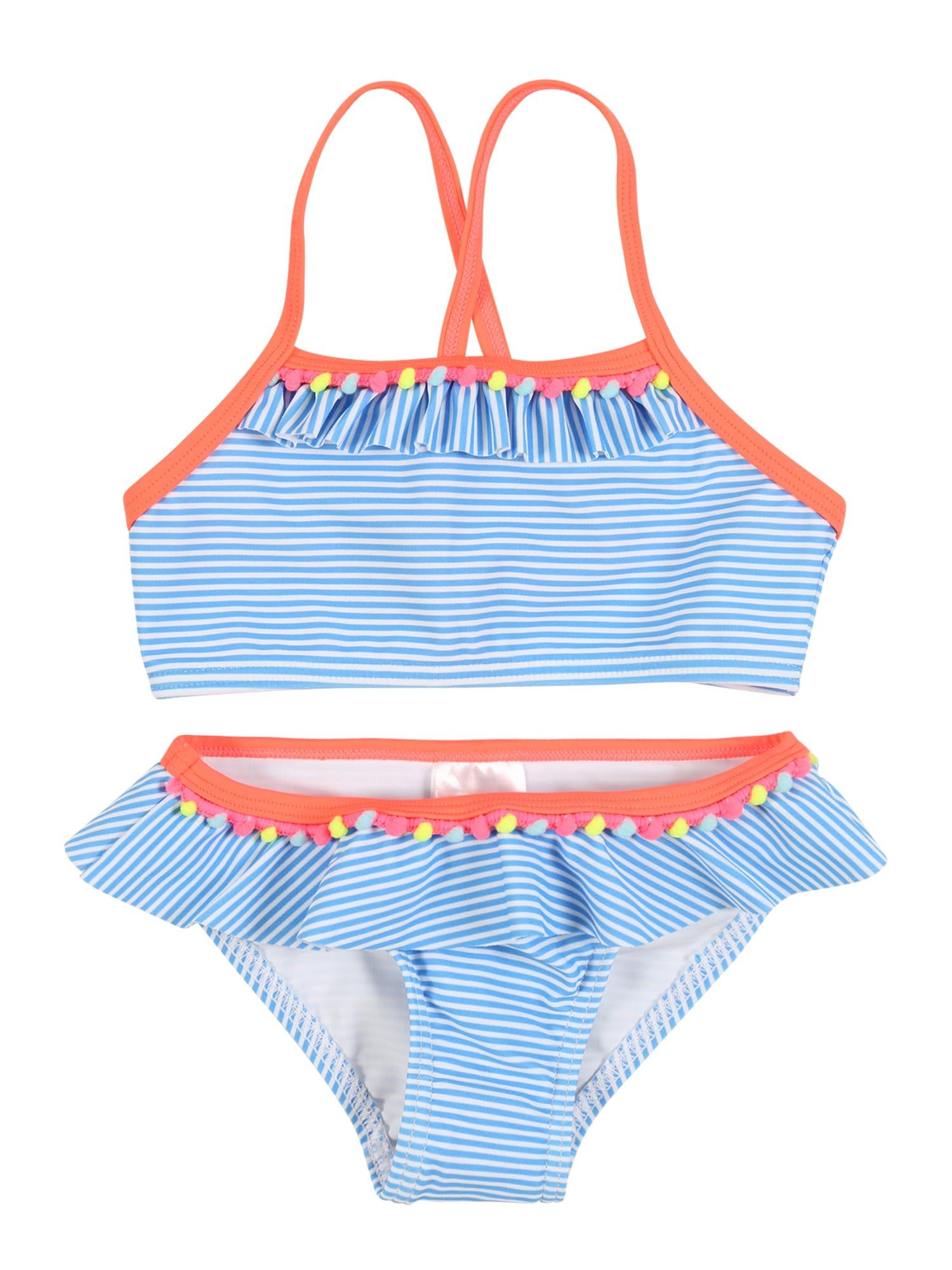 STACCATO Bikinis balta / mėlyna