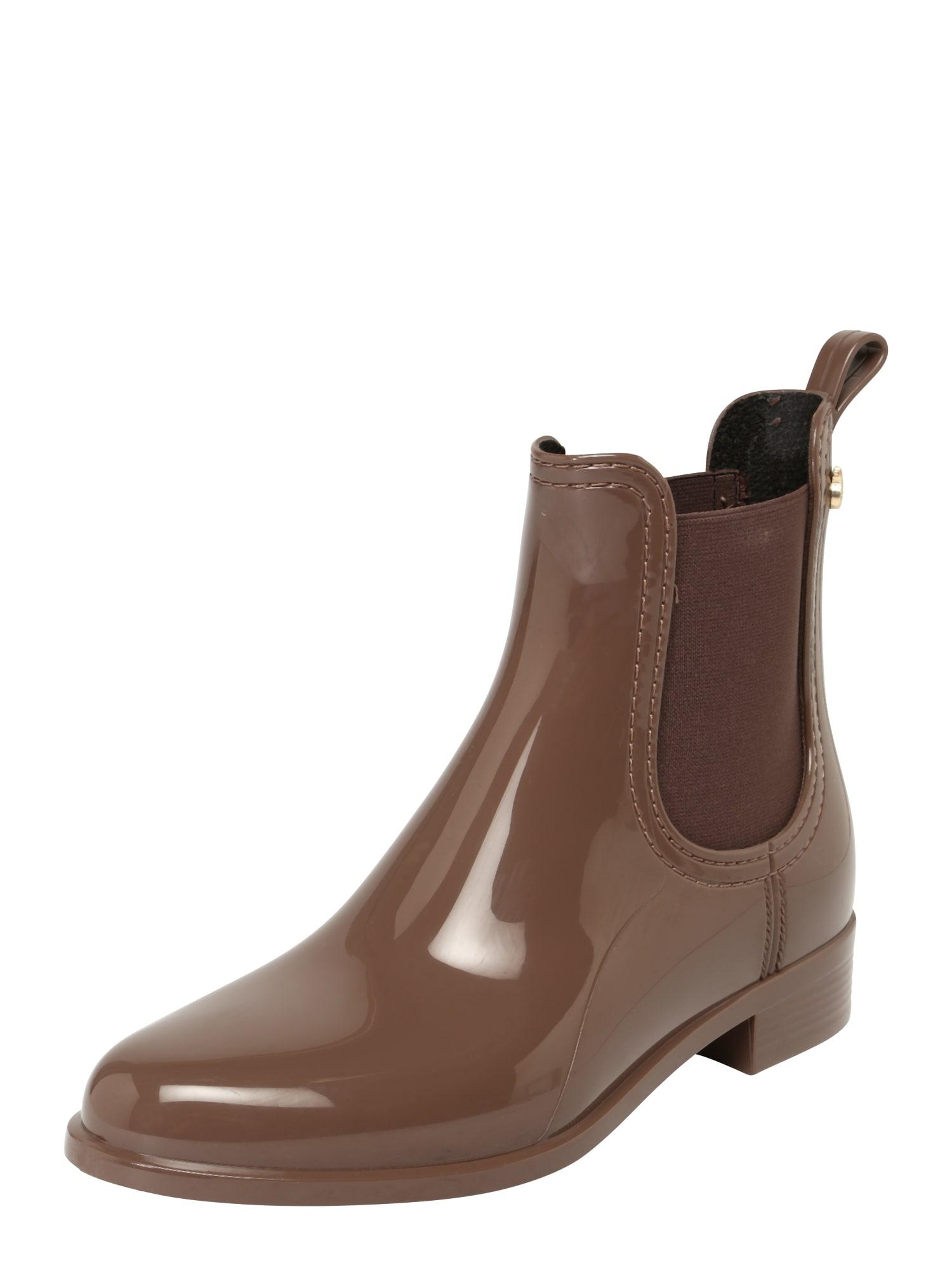 LEMON JELLY Guminiai batai 'Comfy' rausvai pilka