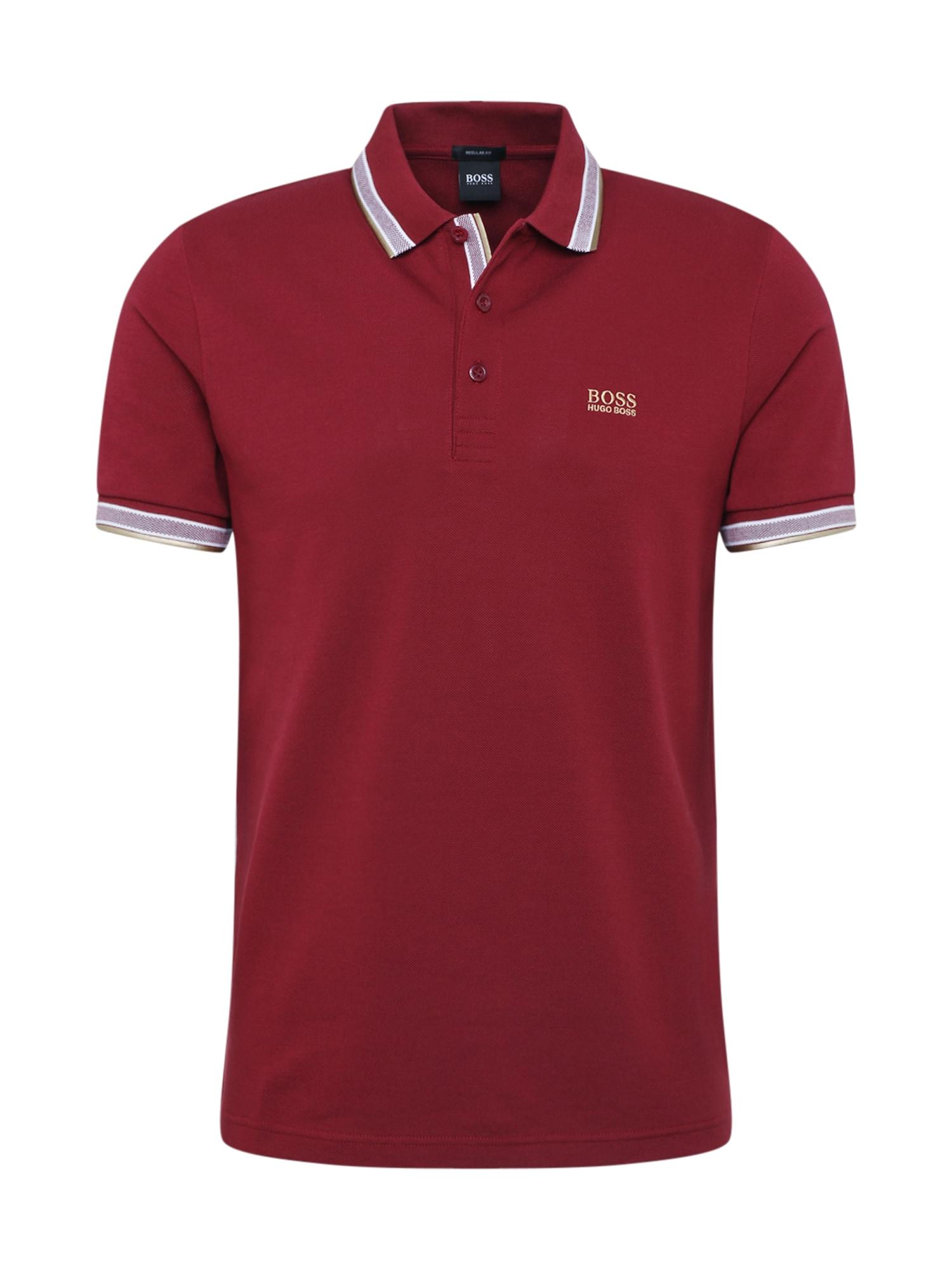 BOSS ATHLEISURE Marškinėliai 'Paddy' raudona