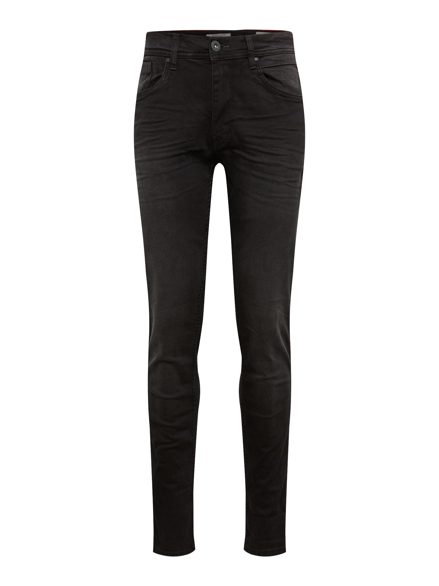 BLEND Džinsai 'Jet Slim Taperd' juodo džinso spalva