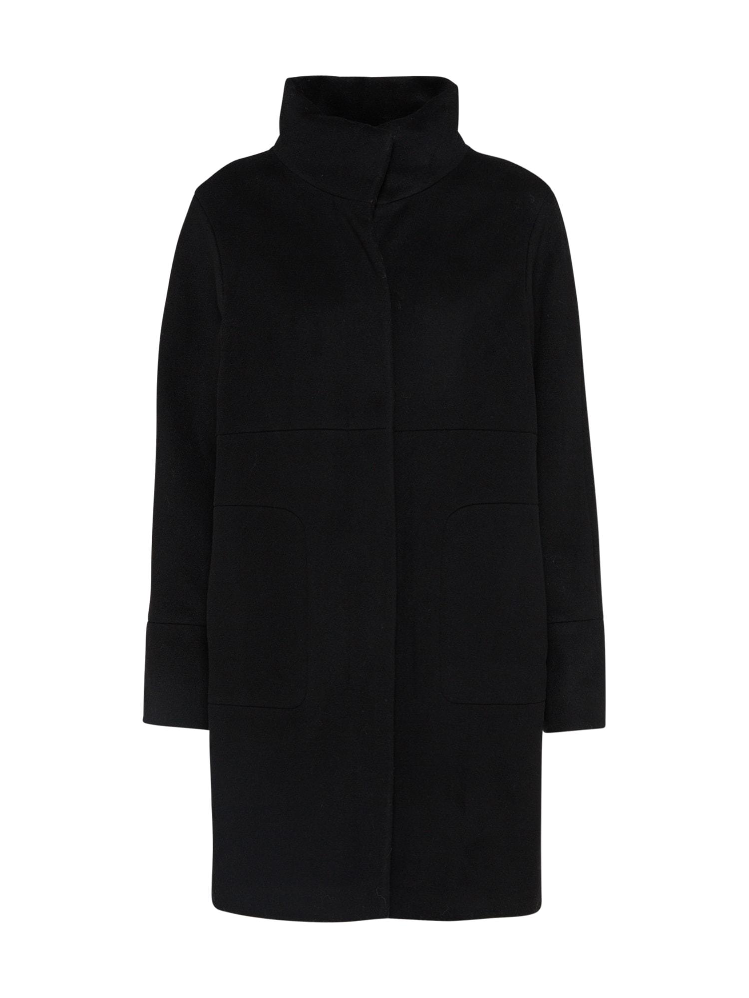 Přechodný kabát černá RENÉ LEZARD