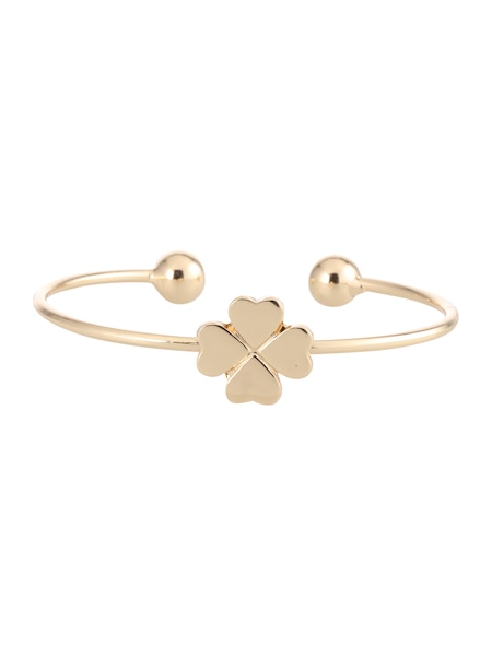 Armbaender für Frauen - Sweet Deluxe Armreif 'Kleeblatt' gold  - Onlineshop ABOUT YOU