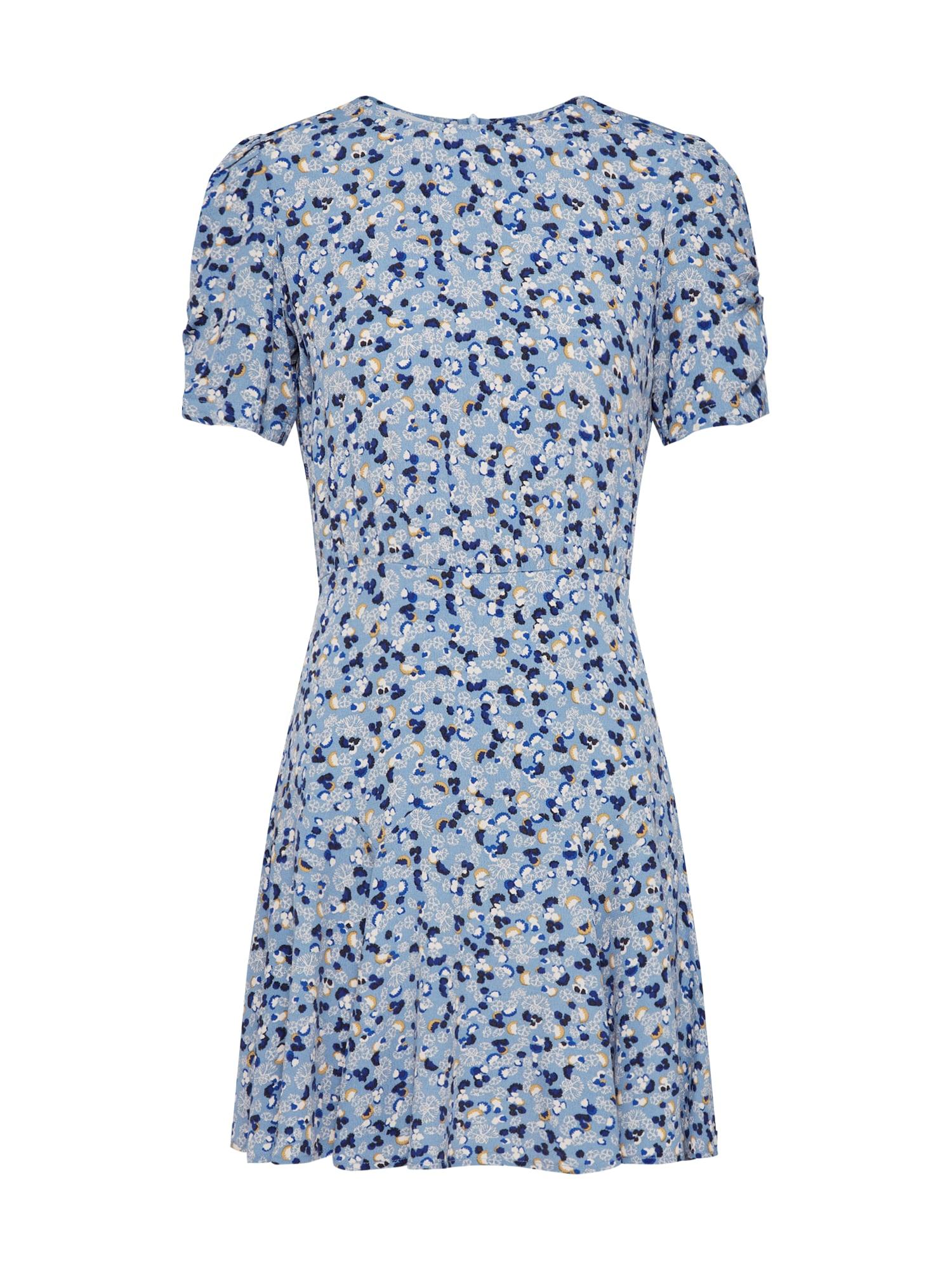 Letní šaty LUCIE DANCE modrá námořnická modř mix barev Sessun