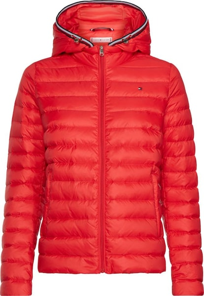Jacken - Steppjacke › Tommy Hilfiger › rot  - Onlineshop ABOUT YOU