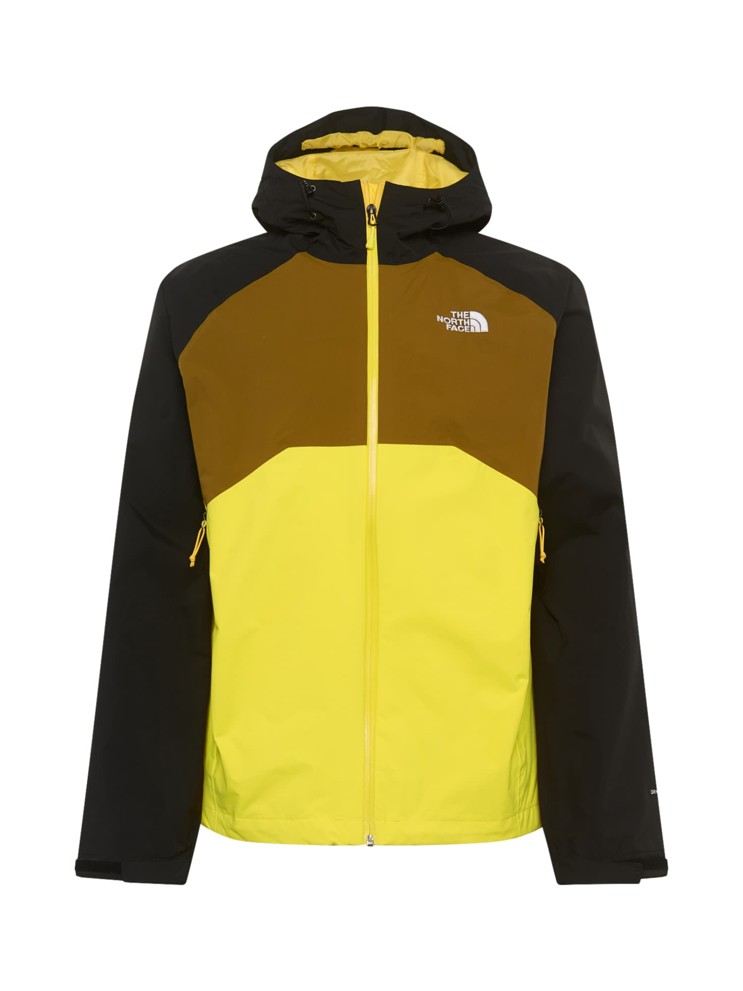 THE NORTH FACE Športová bunda 'Stratos'  olivová / žltá / čierna