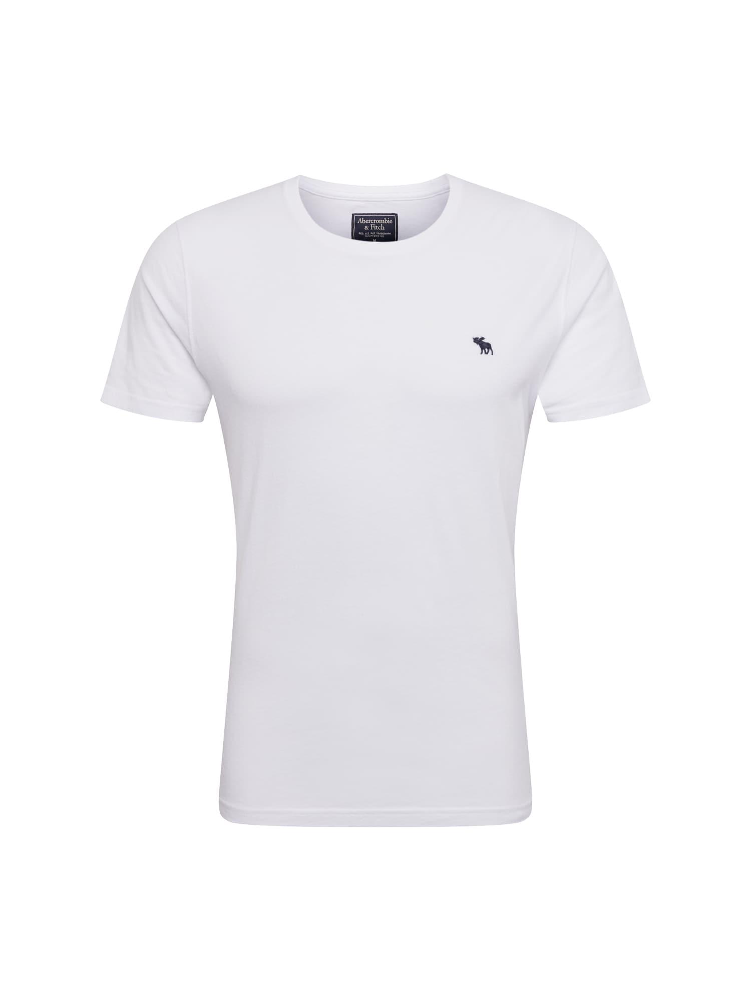 Abercrombie & Fitch Marškinėliai 'GLBL CREW MULTIPACK' balta