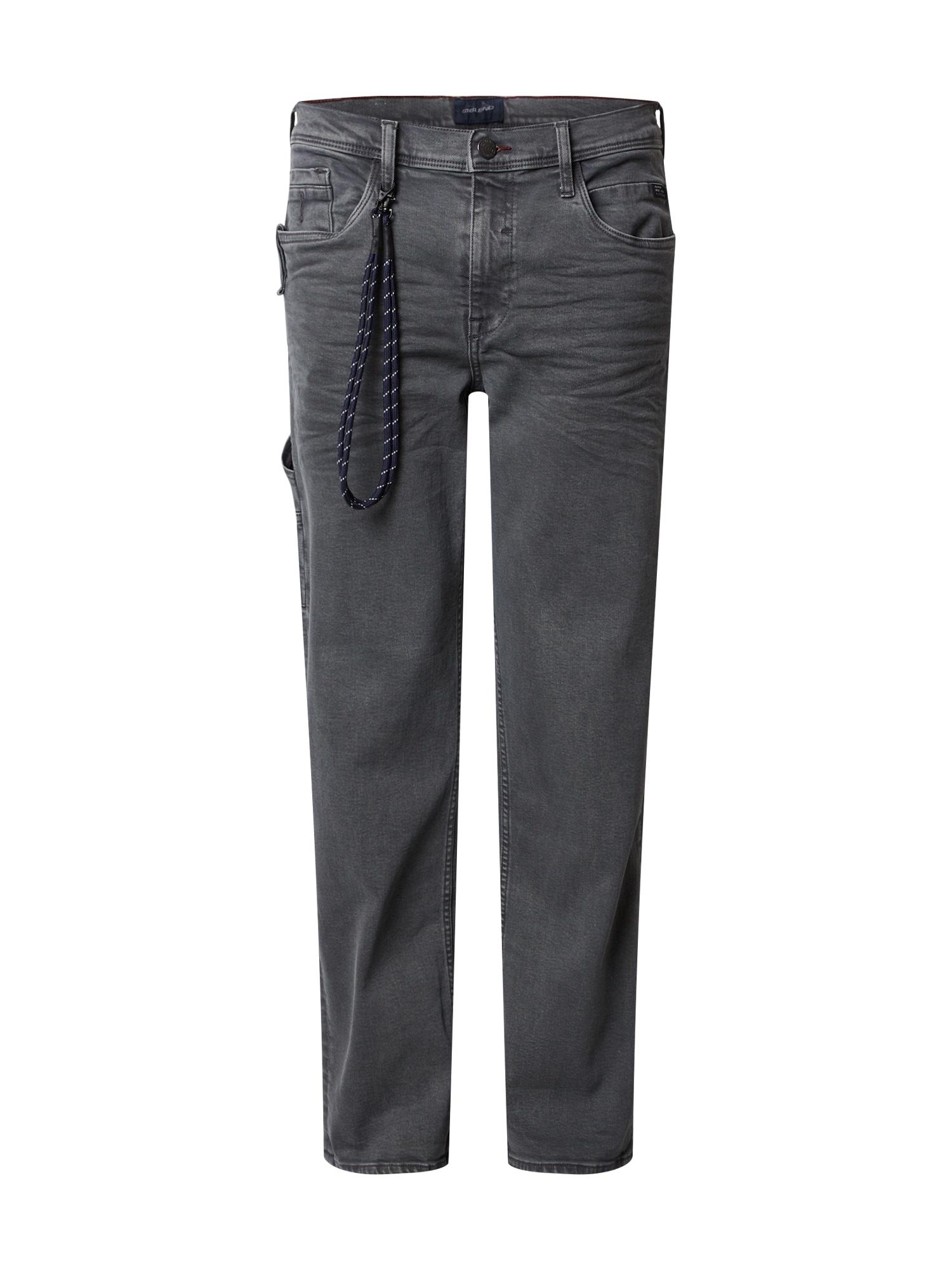 BLEND Darbinio stiliaus džinsai tamsiai pilka