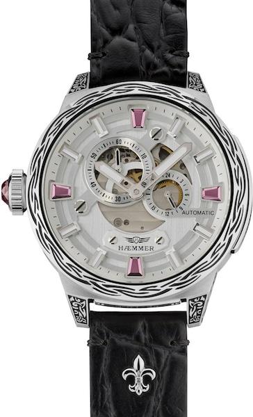 Uhren für Frauen - HAEMMER HAEMMER GERMANY Automatikuhr »PINK PASSION, RD 200« pink schwarz silber weiß  - Onlineshop ABOUT YOU