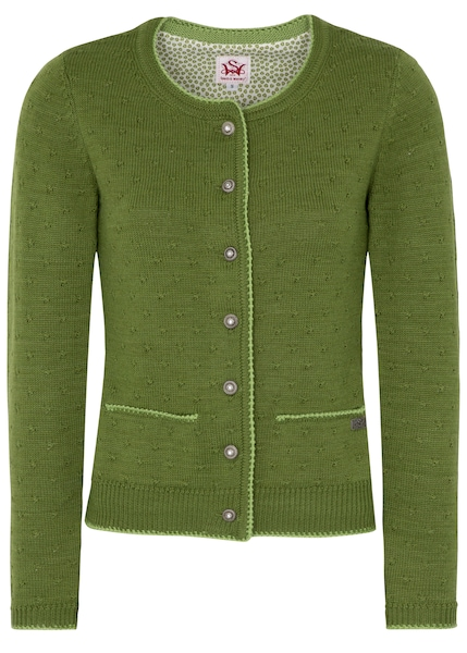 Jacken - Strickjacke Karlotta › SPIETH WENSKY › grasgrün  - Onlineshop ABOUT YOU