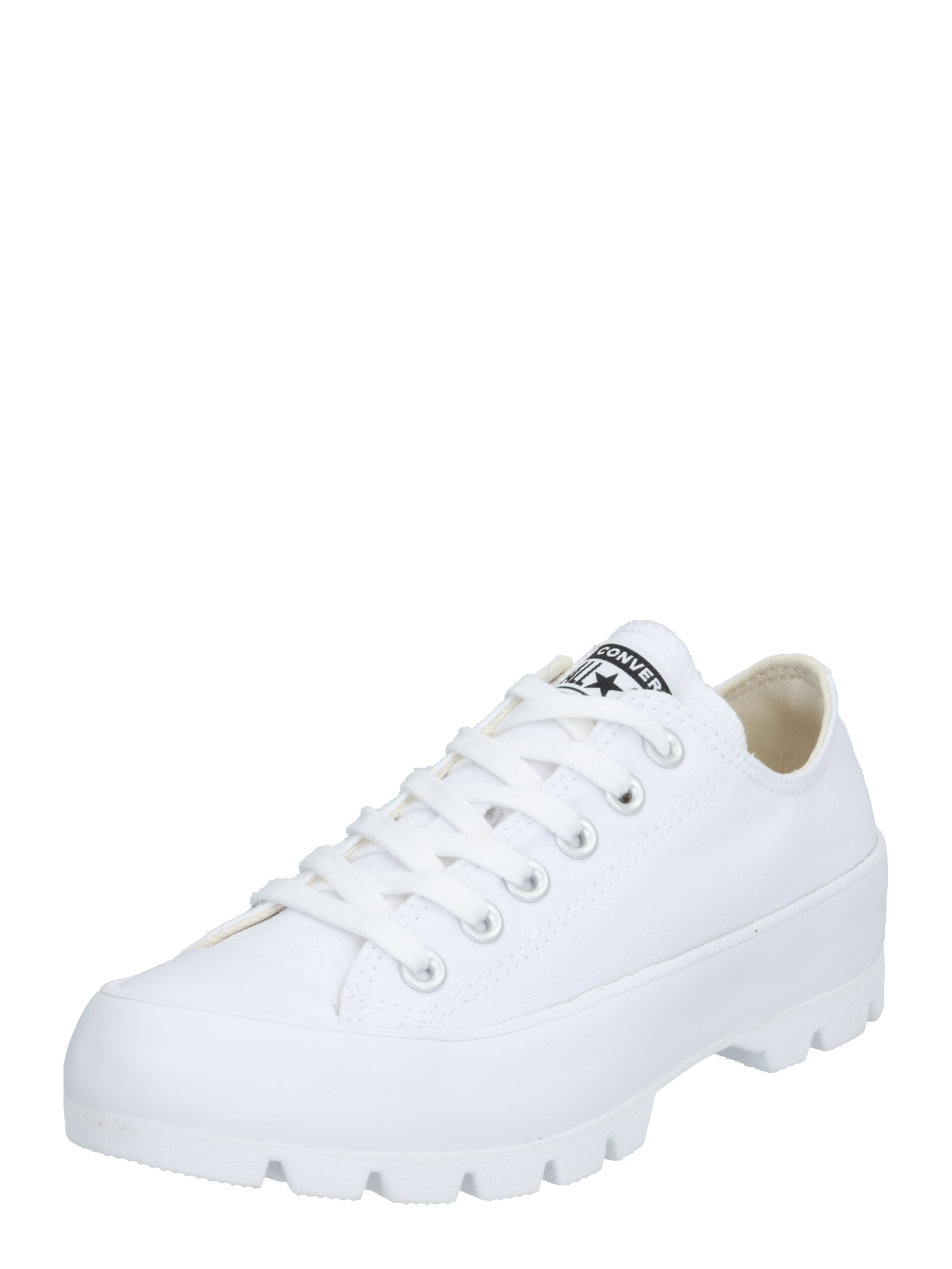 CONVERSE Sportbačiai be auliuko 'CHUCK TAYLOR ALL STAR LUGGED - OX' balta
