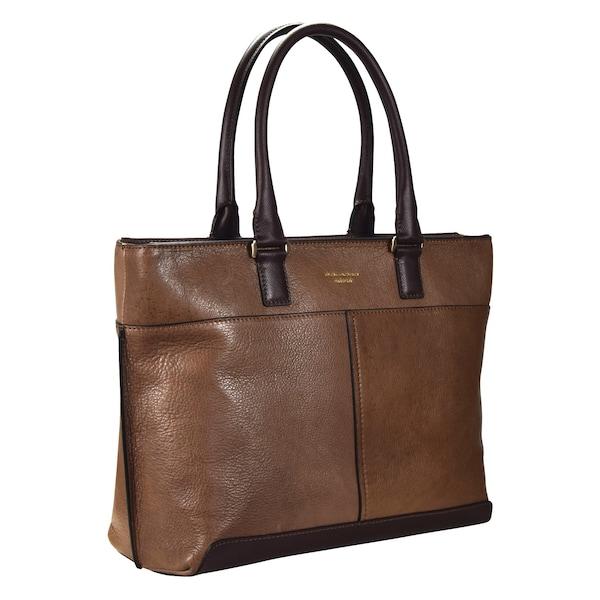 Shopper - Archimede Shopper Tasche Leder 35 cm › Piquadro › braun  - Onlineshop ABOUT YOU