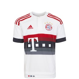 ADIDAS,ADIDAS PERFORMANCE Kinder,Kinder,Jungen FC Bayern 15/16 Auswärts Fußballtrikot Kinder weiß | 04055014924282