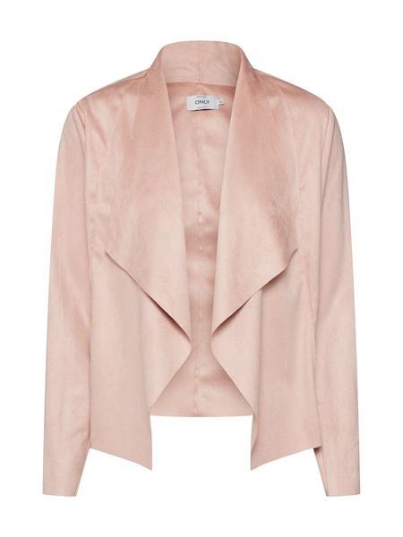 Jacken für Frauen - ONLY Jacke 'Fleur' rosé  - Onlineshop ABOUT YOU