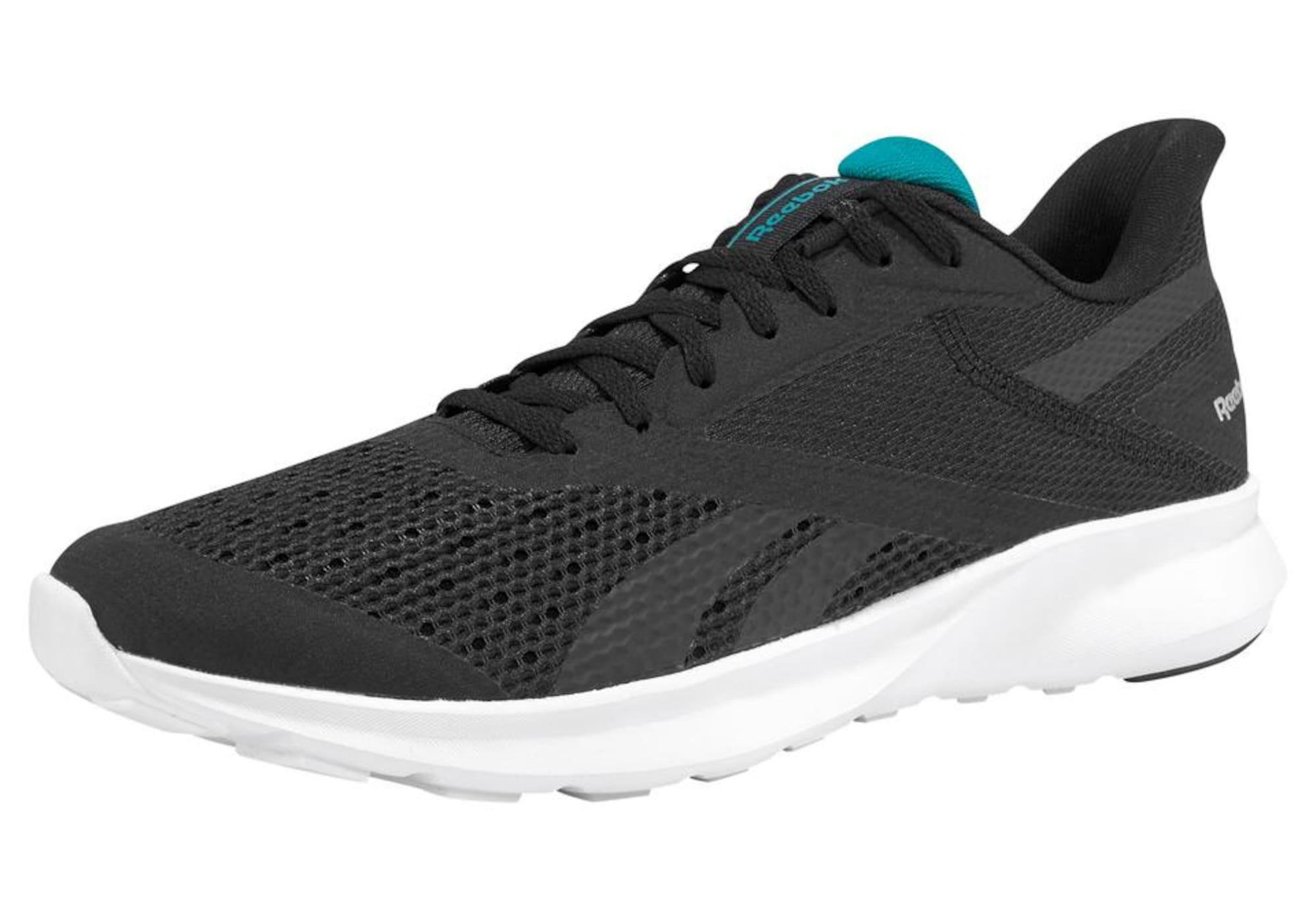 REEBOK Bėgimo batai juoda / nefrito spalva