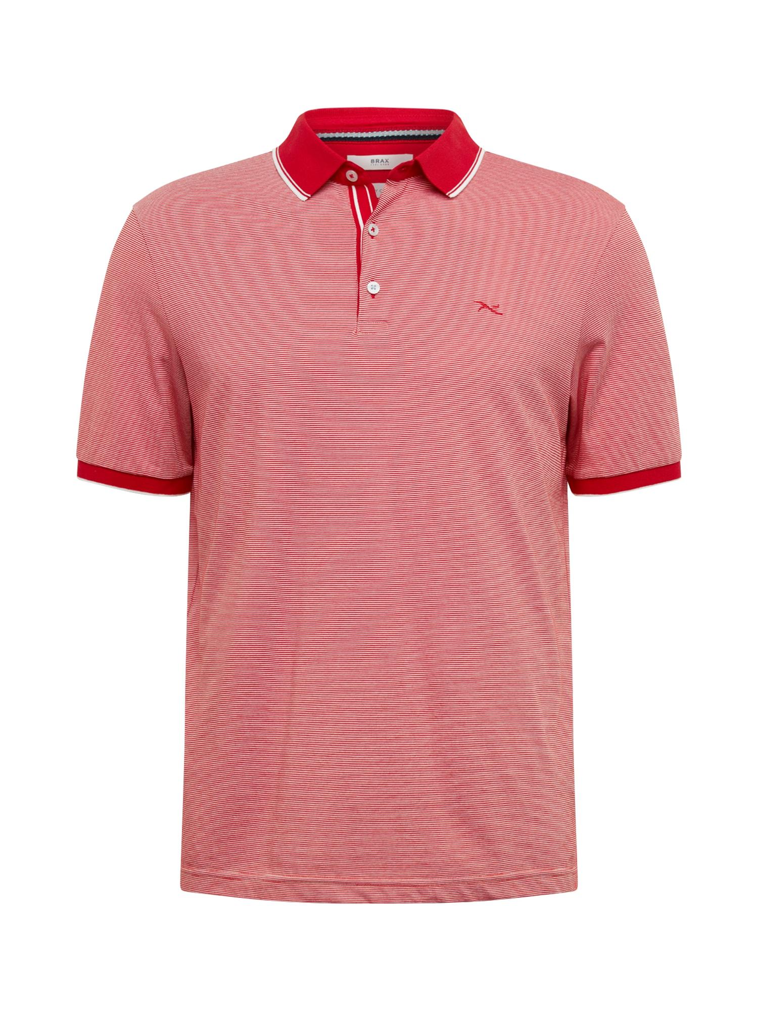 BRAX Marškinėliai 'Paco' balta / raudona