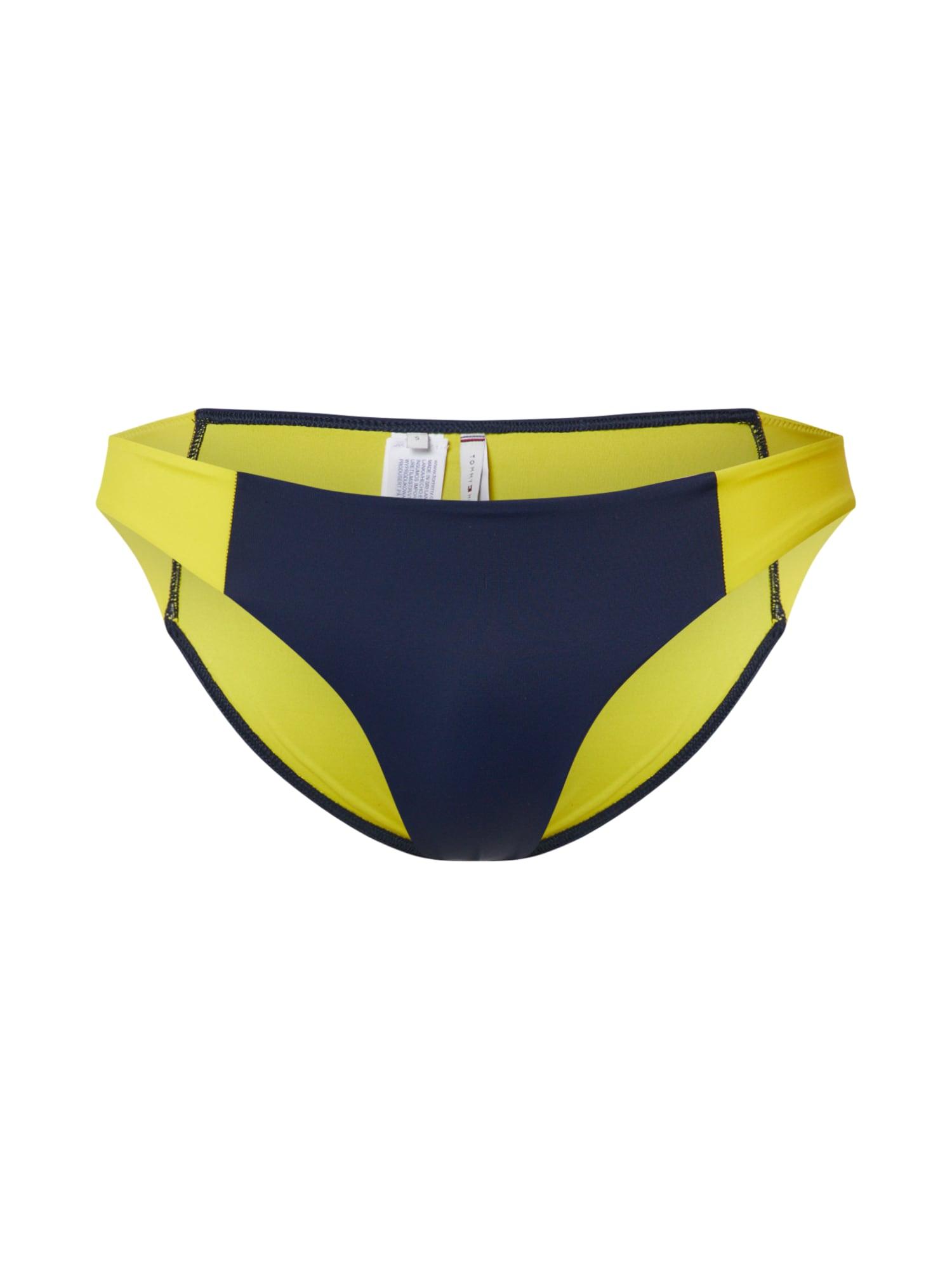 Tommy Hilfiger Underwear Bikinio kelnaitės geltona