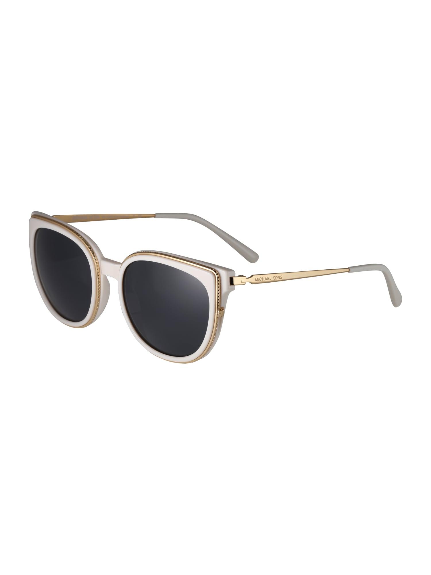 Sluneční brýle BAL HARBOUR zlatá bílá Michael Kors