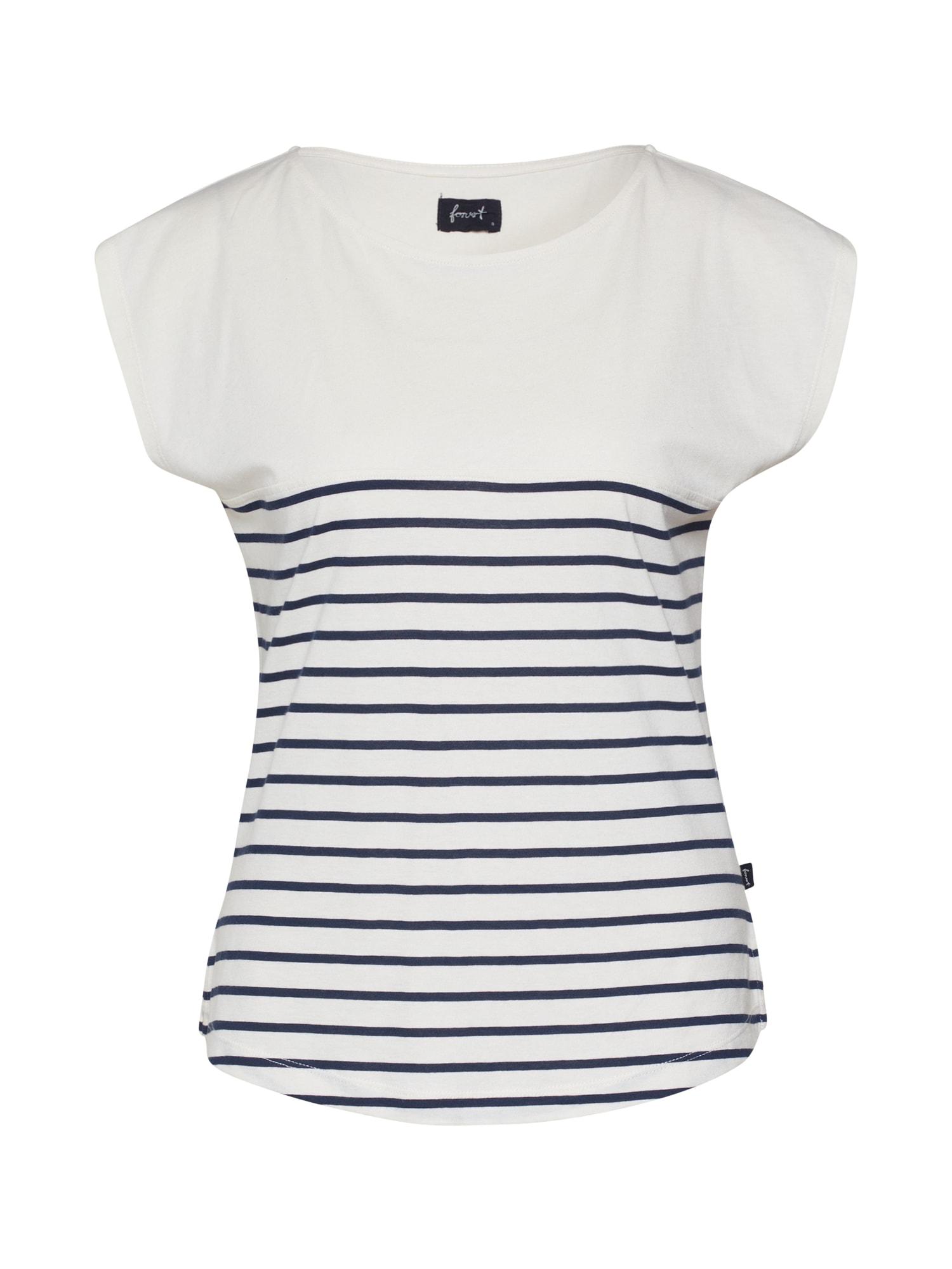 Forvert Marškinėliai 'Talok' tamsiai mėlyna / smėlio
