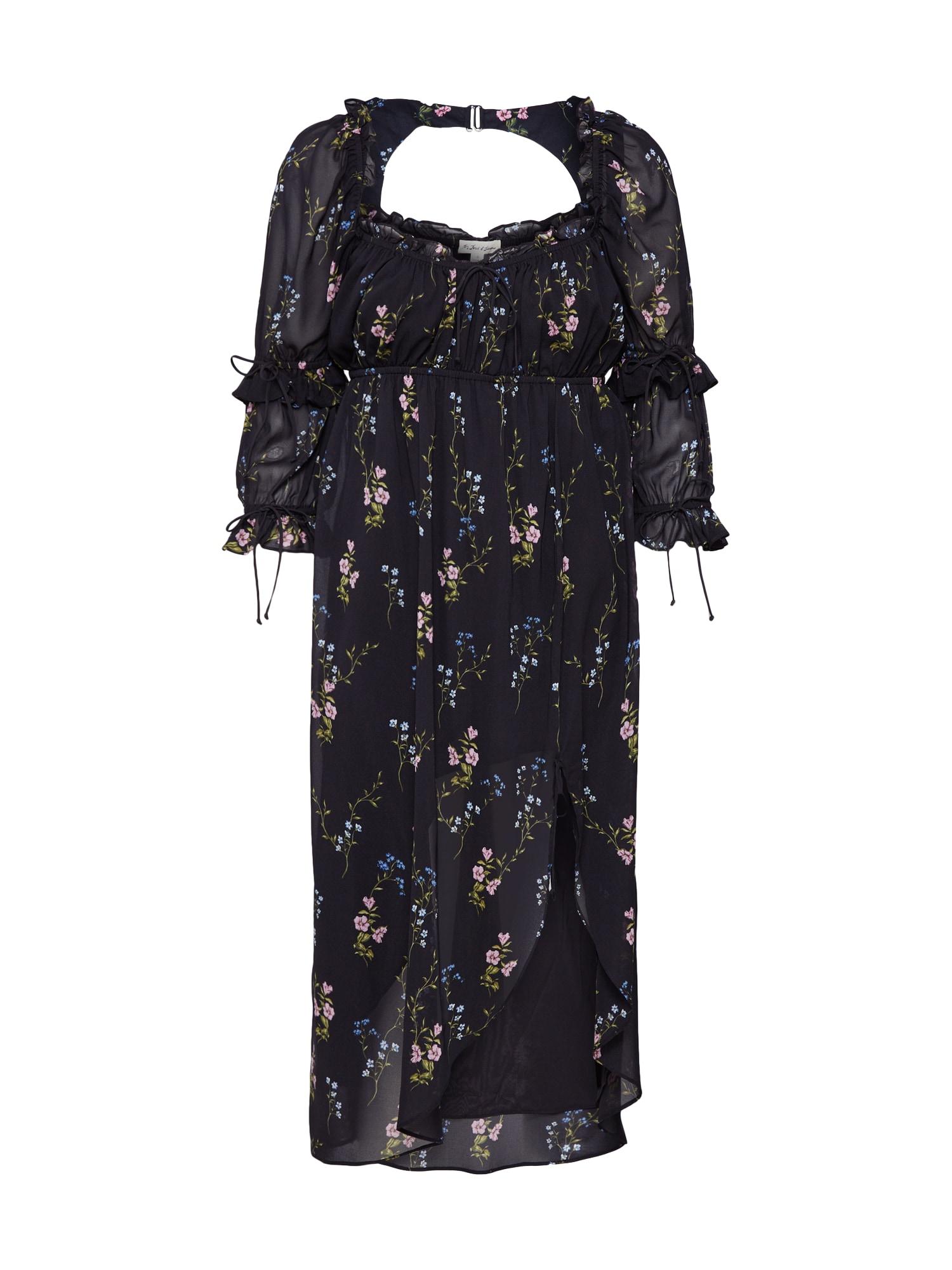 Šaty NICOLA černá For Love & Lemons
