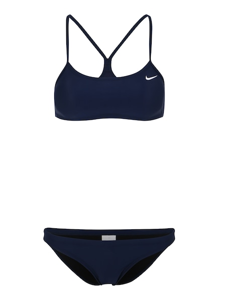 Bademode - Sportbikini 'Solid' › Nike Swim › dunkelblau  - Onlineshop ABOUT YOU