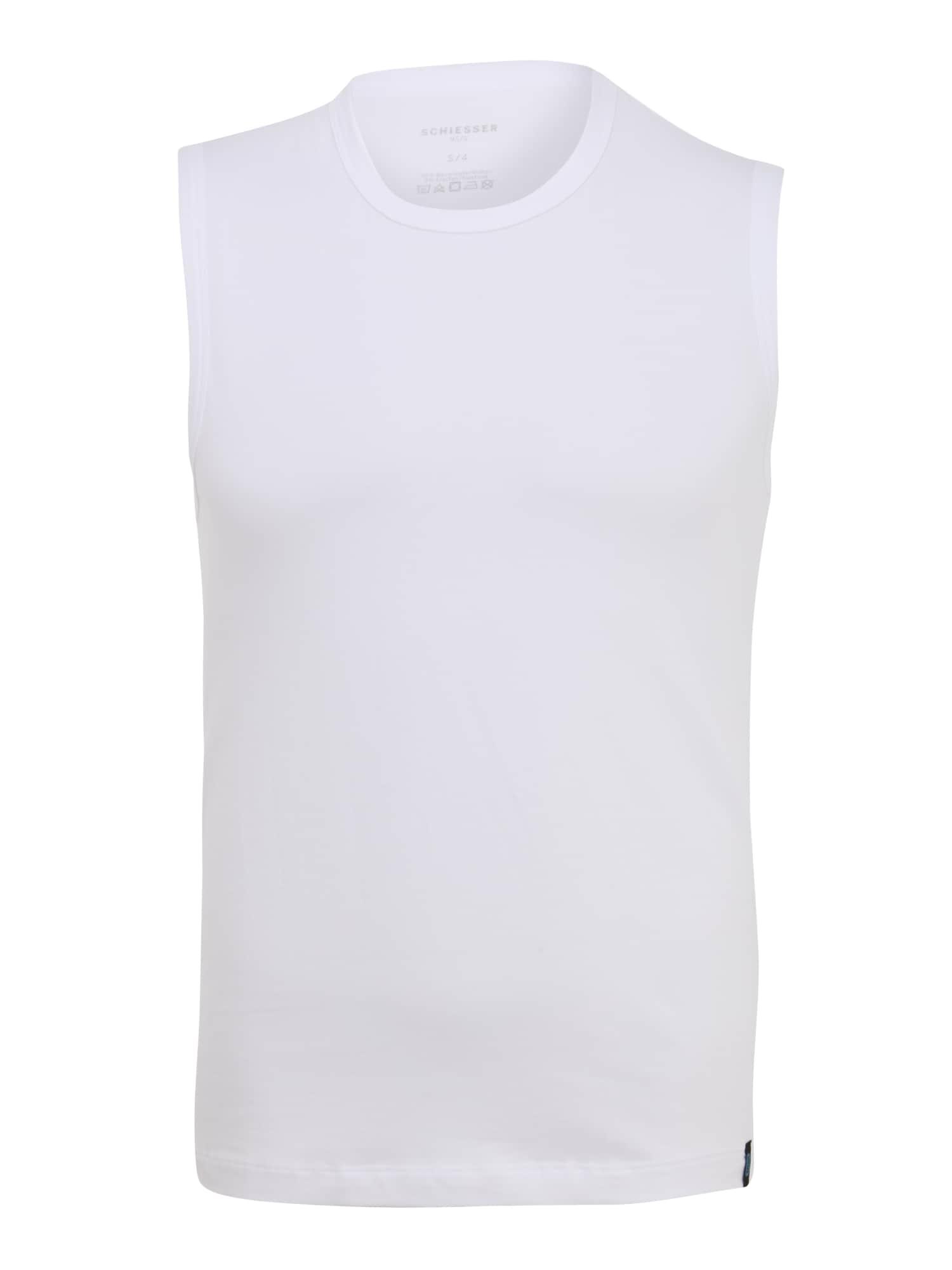 SCHIESSER Apatiniai marškinėliai balta