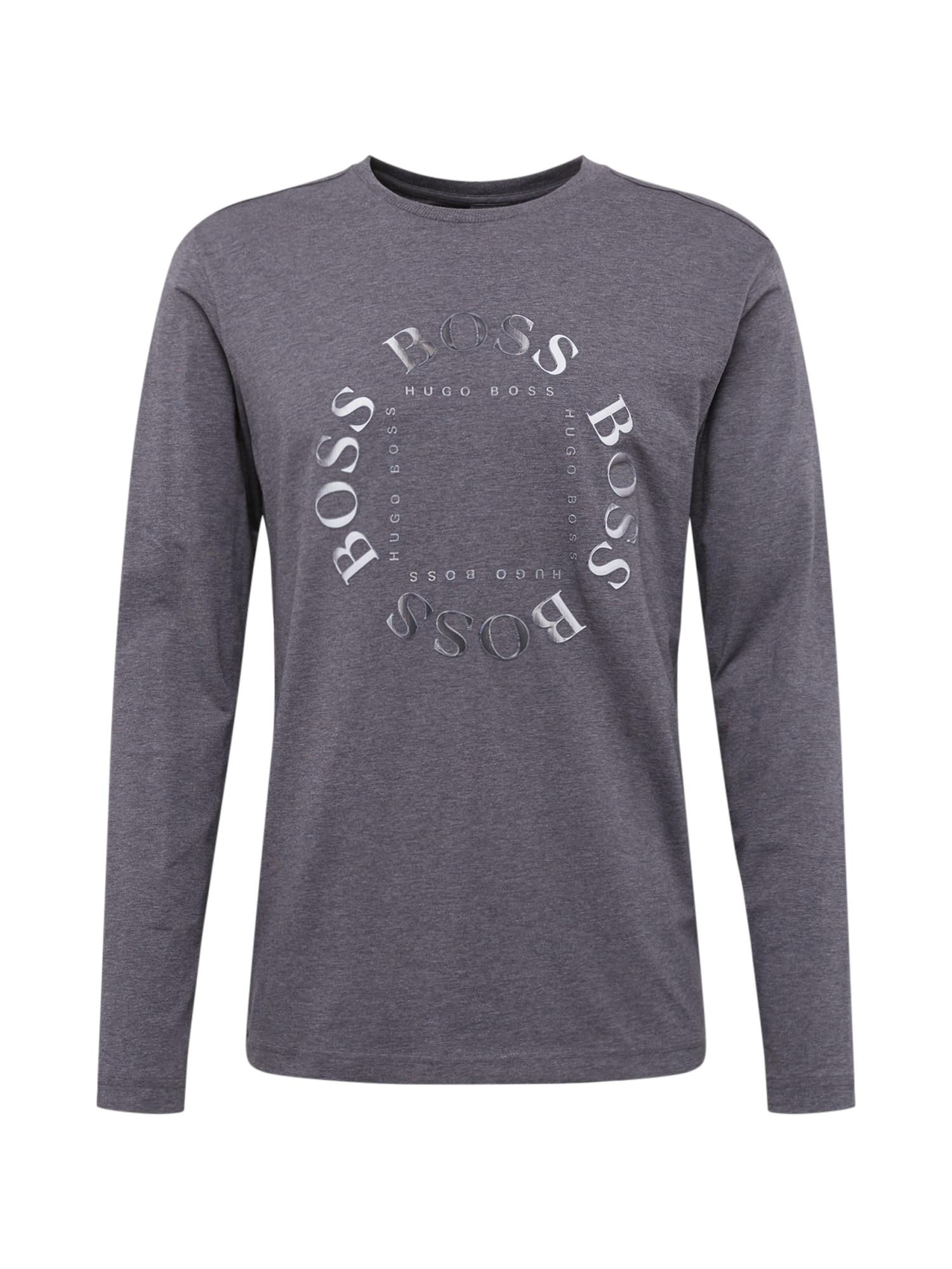 BOSS ATHLEISURE Marškinėliai 'Togn 1' pilka