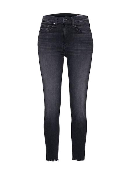 Hosen für Frauen - Jeans 'Highrise Ankle Skinny' › Rag Bone › blue denim  - Onlineshop ABOUT YOU