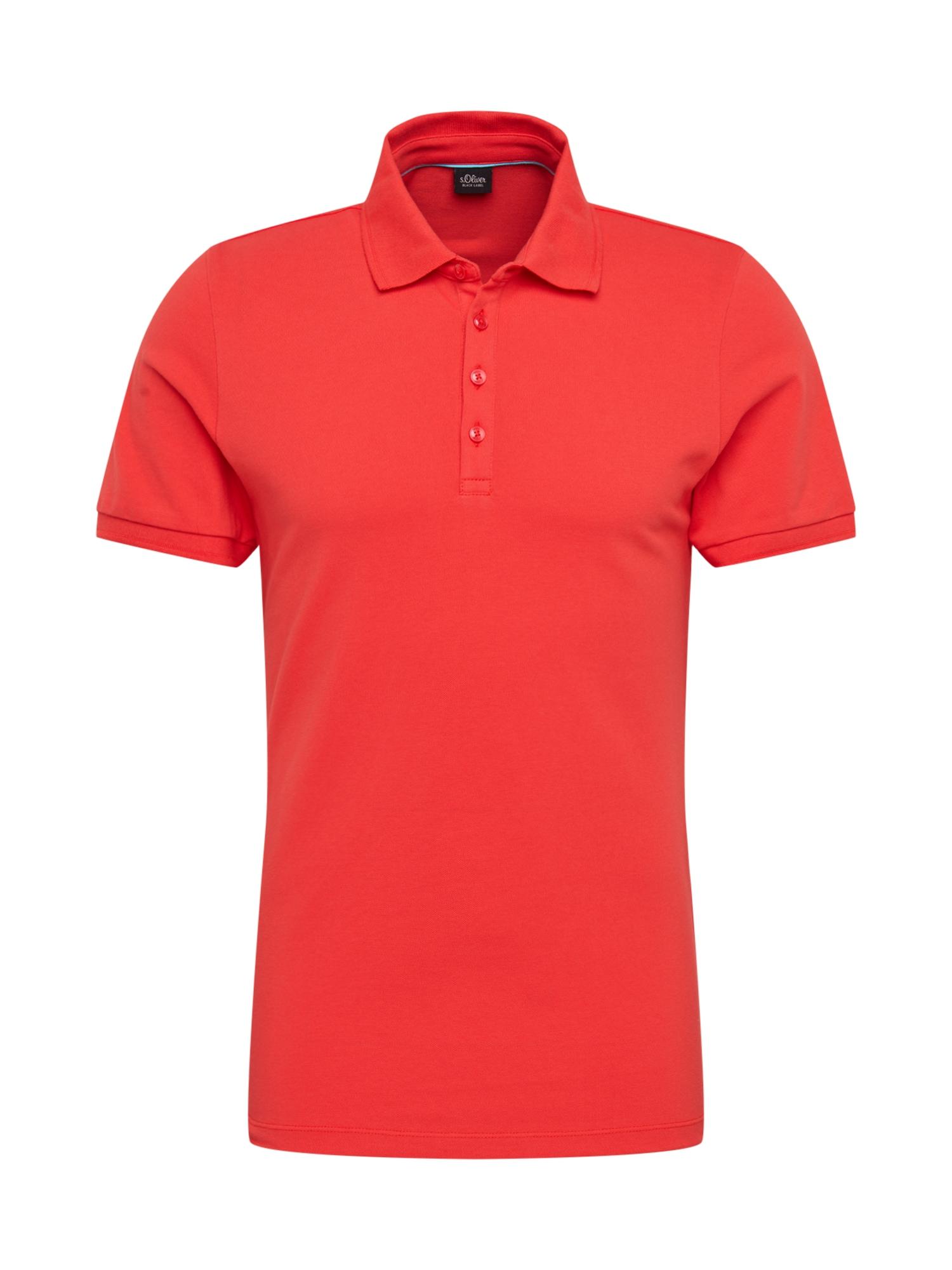 s.Oliver BLACK LABEL Marškinėliai raudona