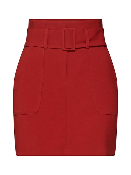 Roecke für Frauen - Rock 'T COVERED BUCKLE UTILITY SKIRT' › New Look › rostrot  - Onlineshop ABOUT YOU