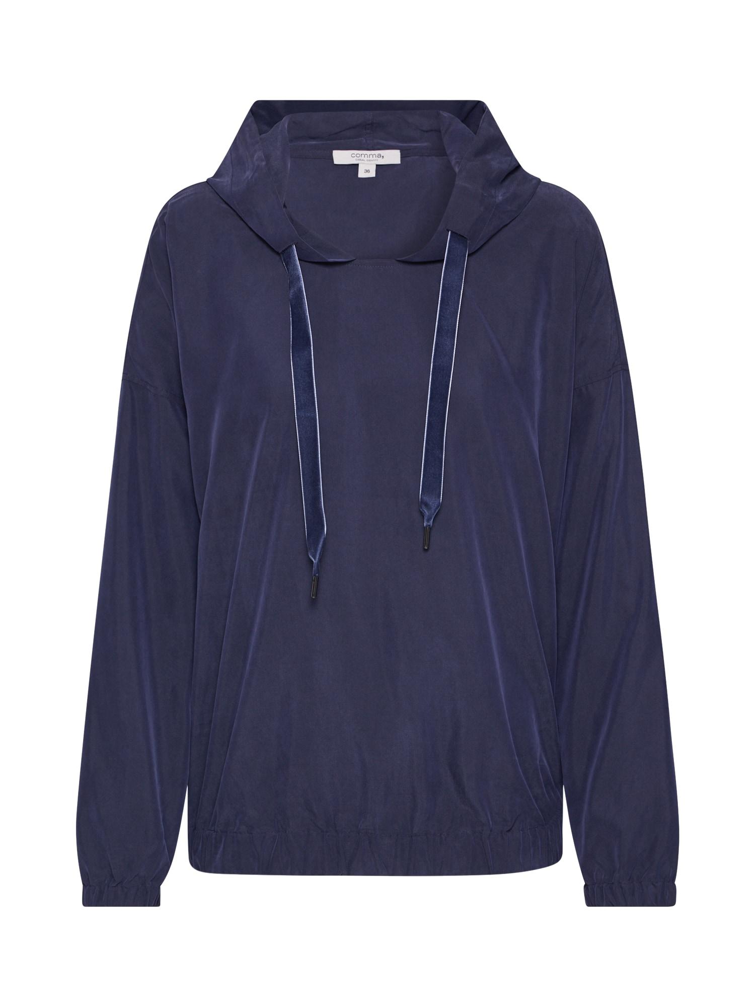 COMMA Megztinis tamsiai mėlyna jūros spalva