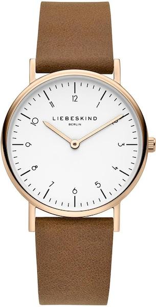 Uhren für Frauen - Liebeskind Berlin Uhr 'LT 0168 LQ' brokat rosegold weiß  - Onlineshop ABOUT YOU