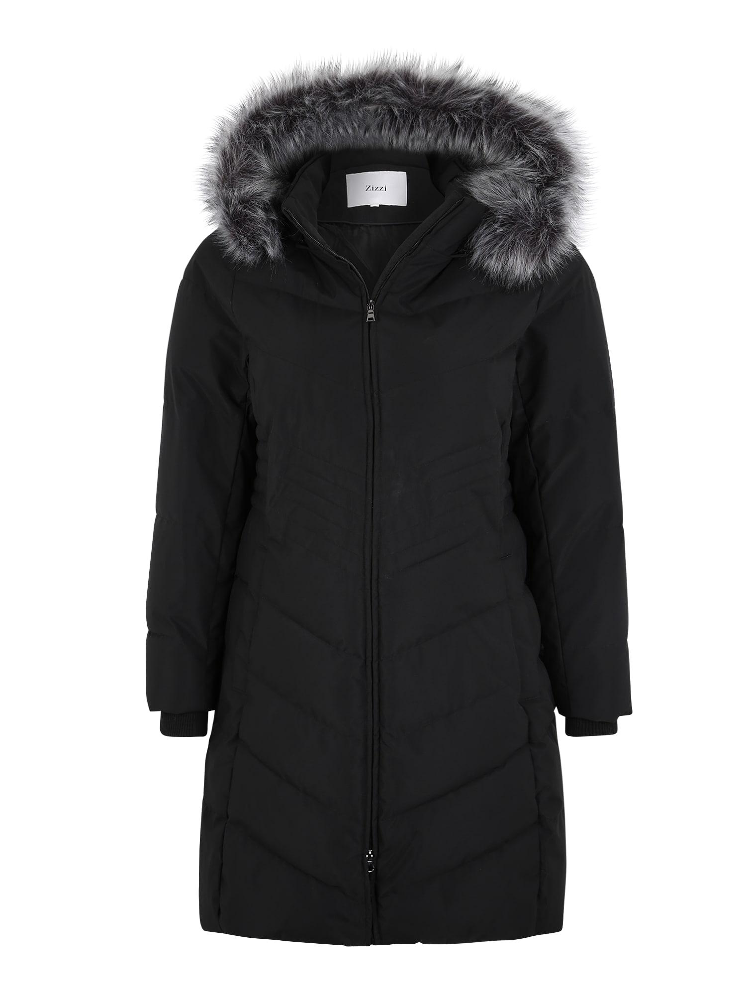 Zizzi Žieminis paltas 'MLUXA' juoda