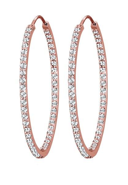 Ohrringe für Frauen - ELLI PREMIUM Ohrringe rosegold transparent  - Onlineshop ABOUT YOU