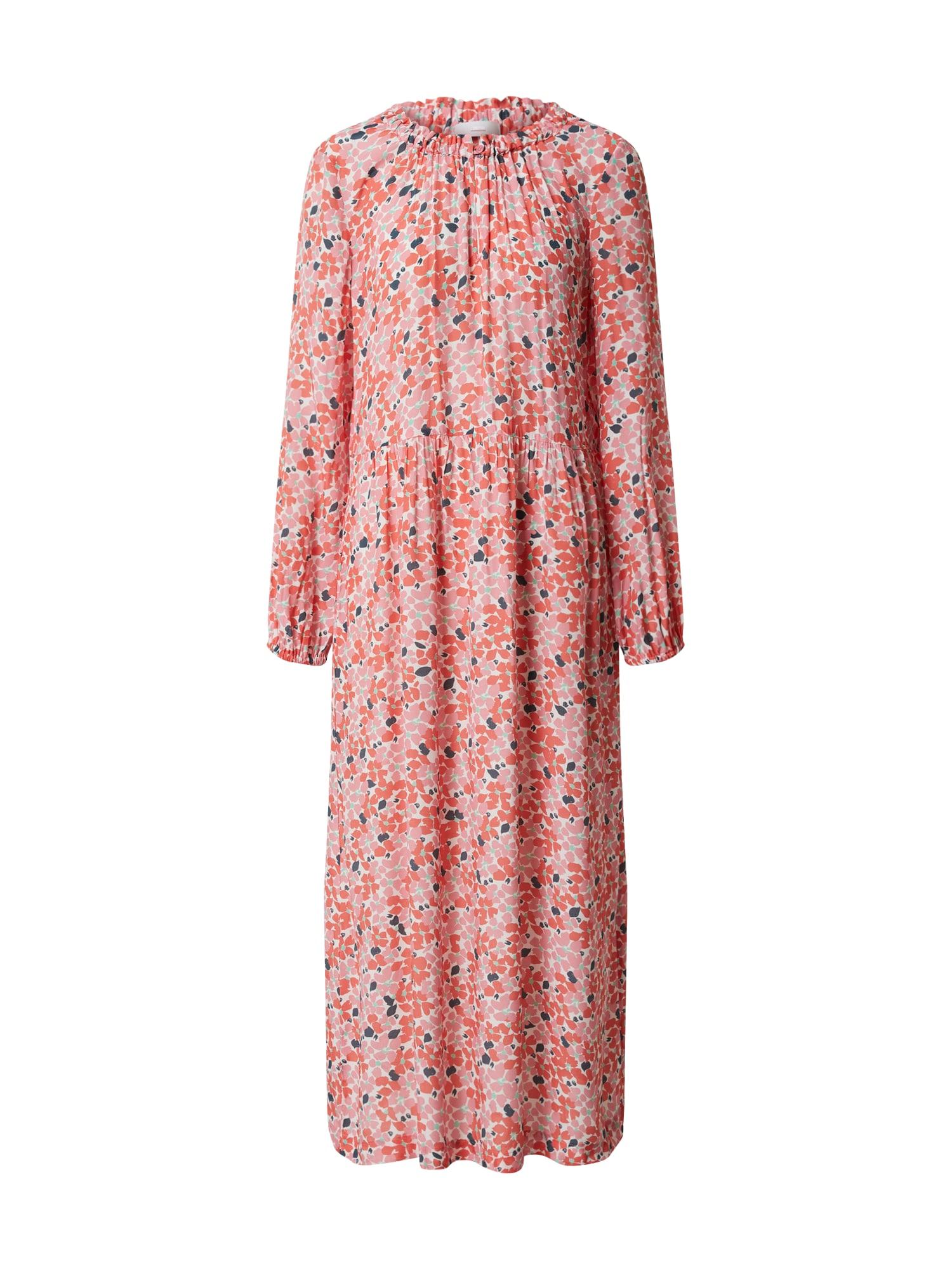 CINQUE Suknelė 'DRALINA' balta / rožinė
