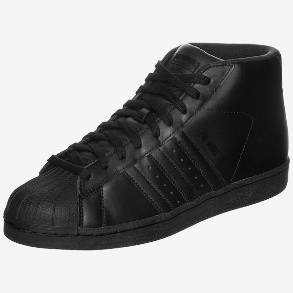 adidas originals superstar pro model sneaker in schwarz. Black Bedroom Furniture Sets. Home Design Ideas
