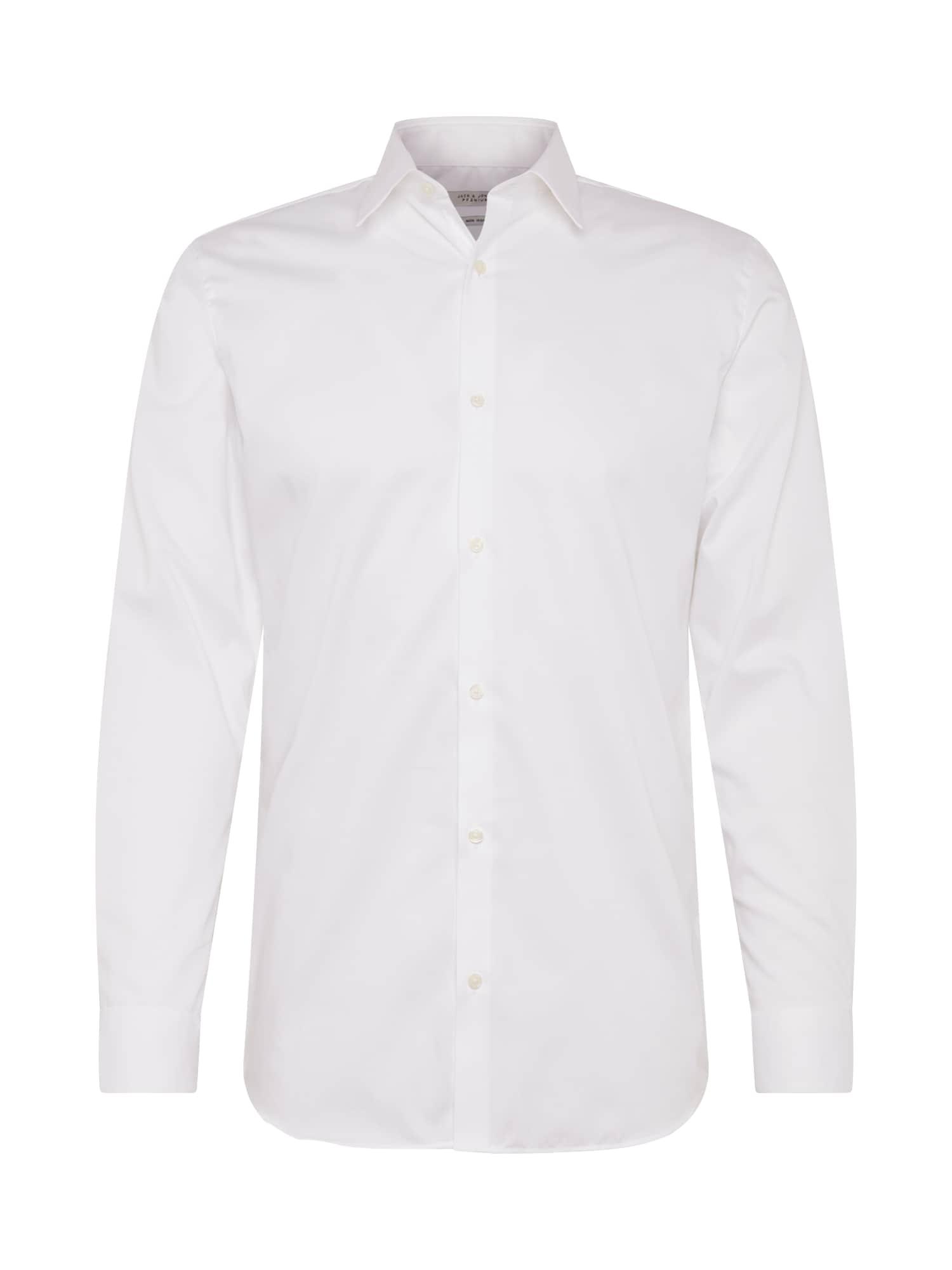 JACK & JONES Dalykinio stiliaus marškiniai balta