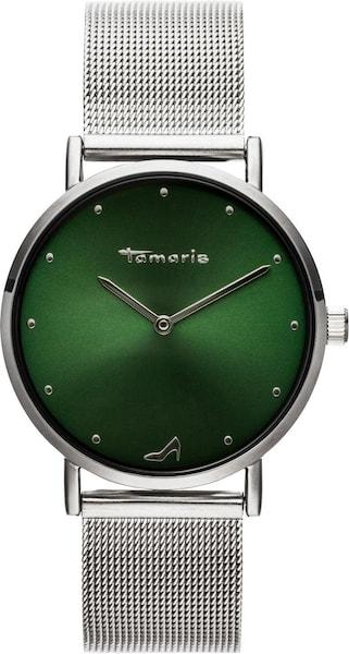 Uhren für Frauen - Uhr 'Anda, TW046' › tamaris › grün silber  - Onlineshop ABOUT YOU