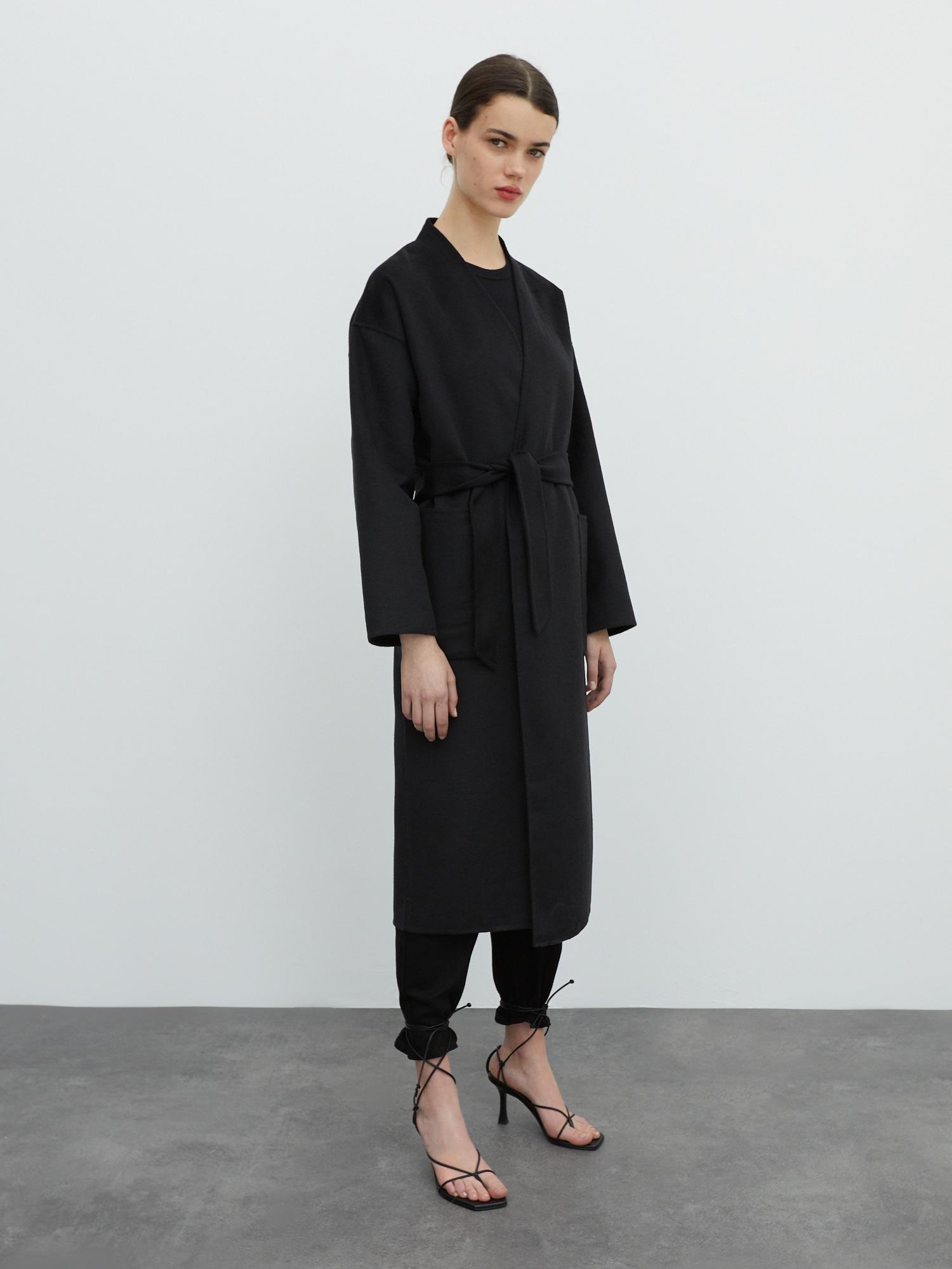 EDITED Prechodný kabát 'Sydney'  čierna.