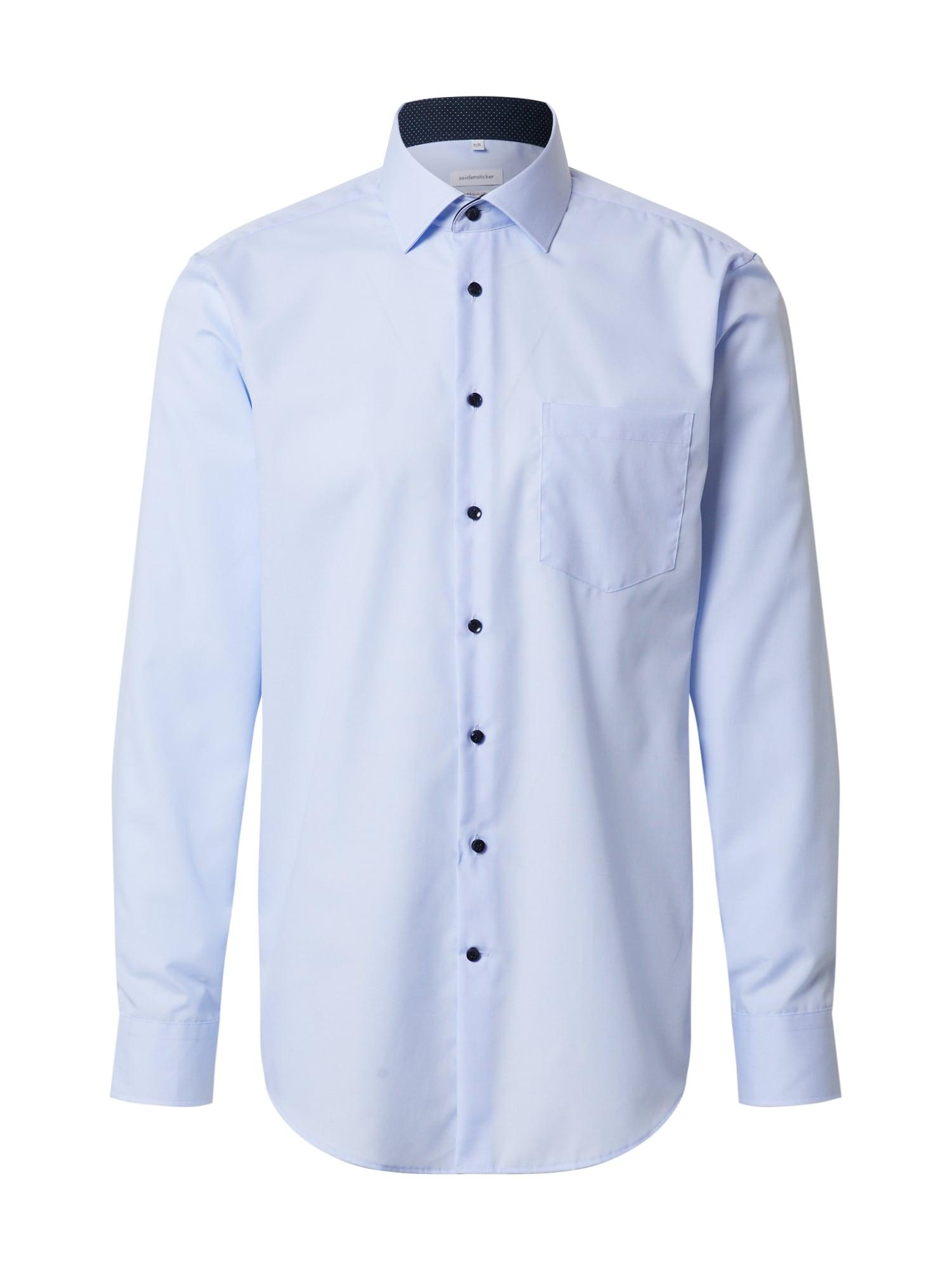 SEIDENSTICKER Společenská košile  světlemodrá