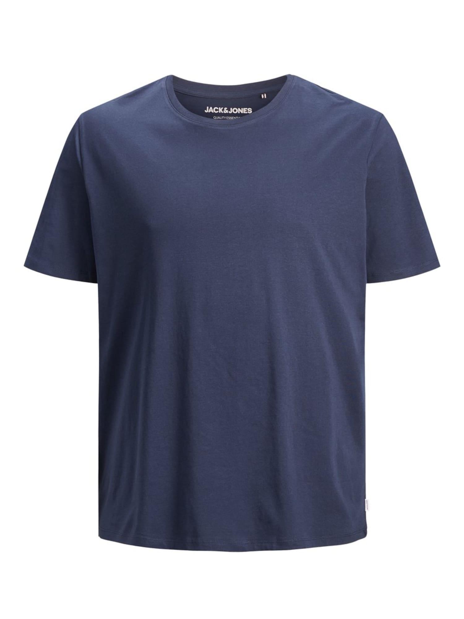 Jack & Jones Plus Marškinėliai tamsiai mėlyna jūros spalva
