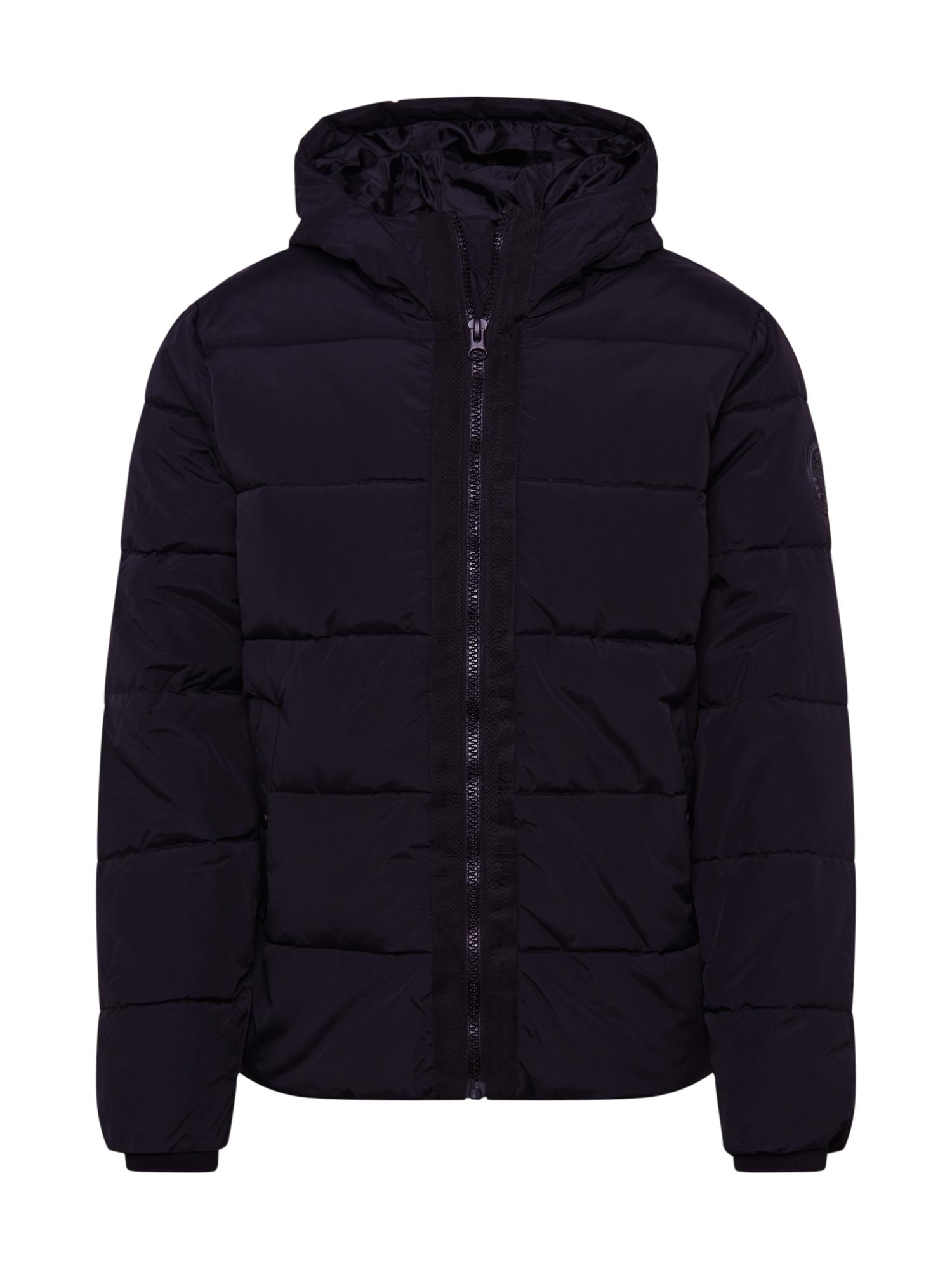 BURTON MENSWEAR LONDON Žieminė striukė juoda