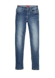 S.Oliver,S.Oliver Junior,s.Oliver Kinder,Jungen Skinny Seattle: Superstretch-Jeans blau | 04055268327525